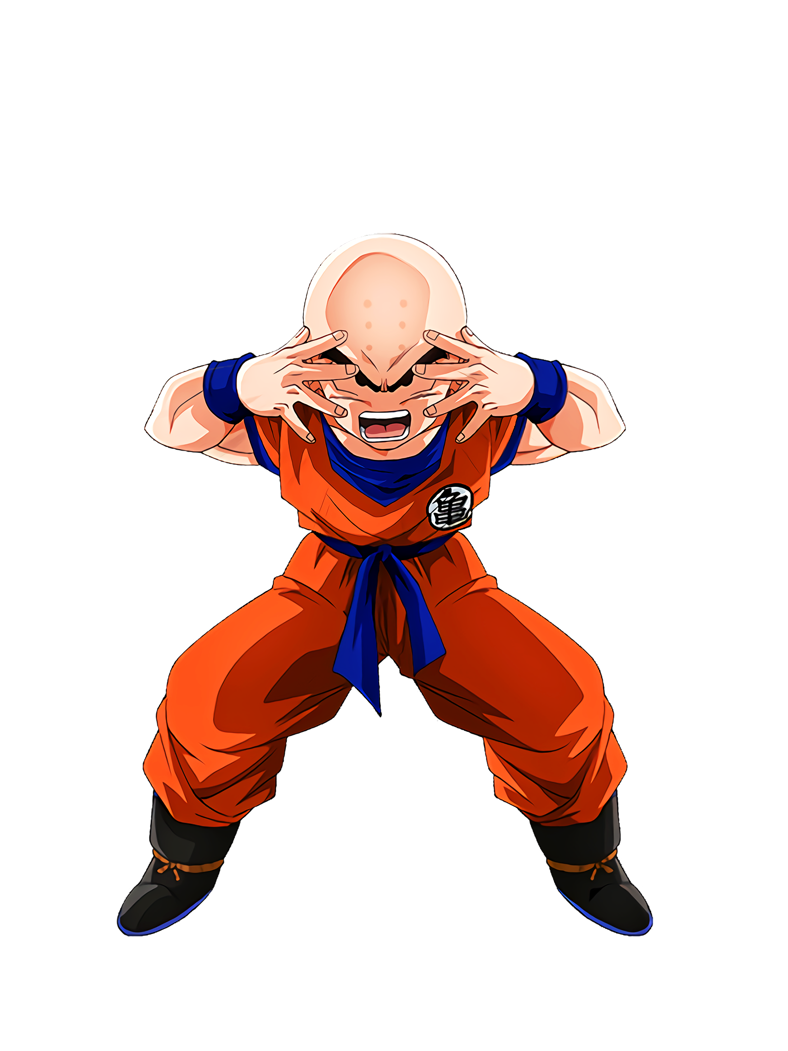 Technique and Spark Krillin Render (Dragon Ball Z Dokkan Battle) .png