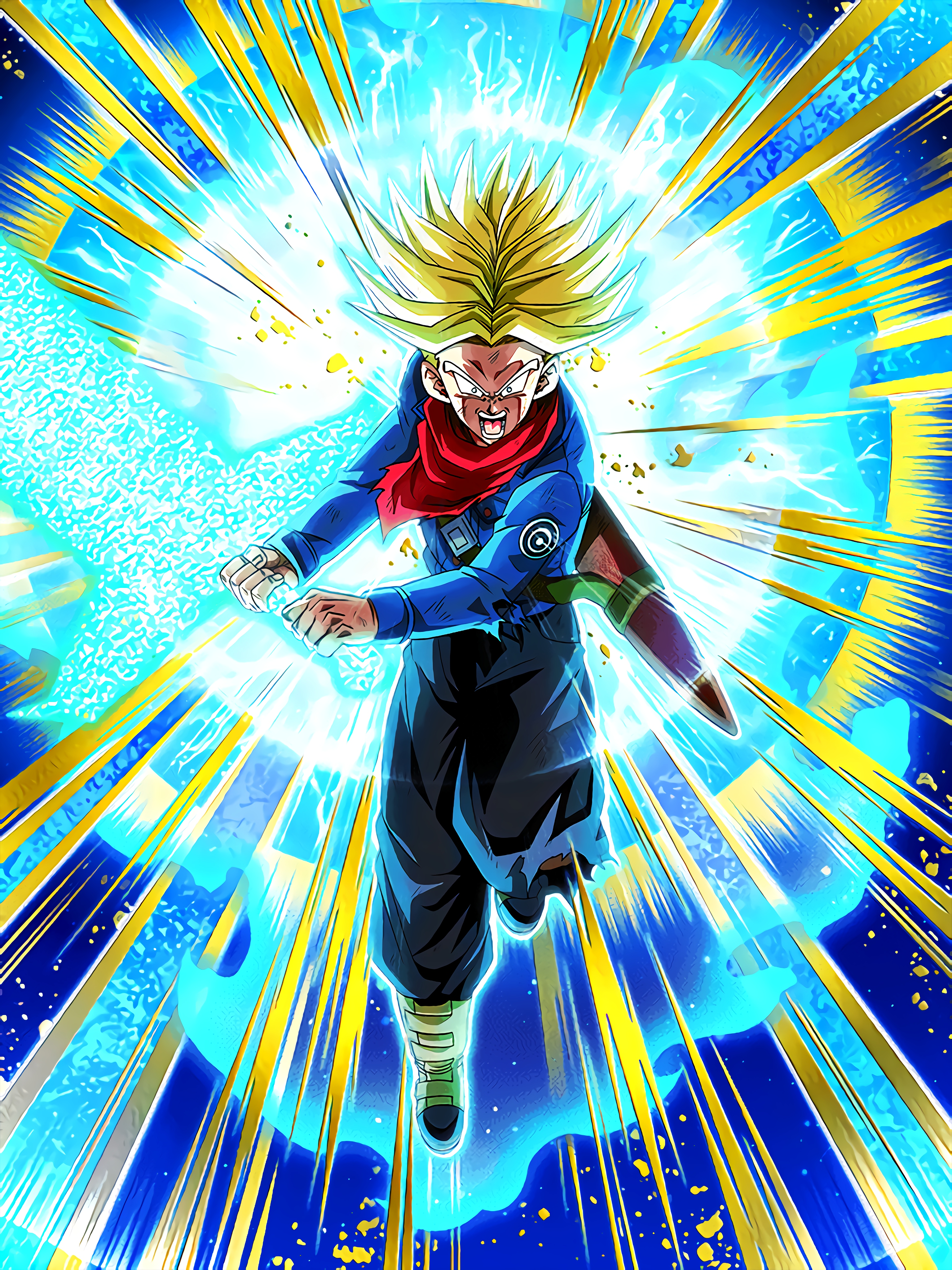 Strong Will to Protect the Future Super Saiyan Trunks 2 Future Art (Dragon Ball Z Dokkan Battle).jpg