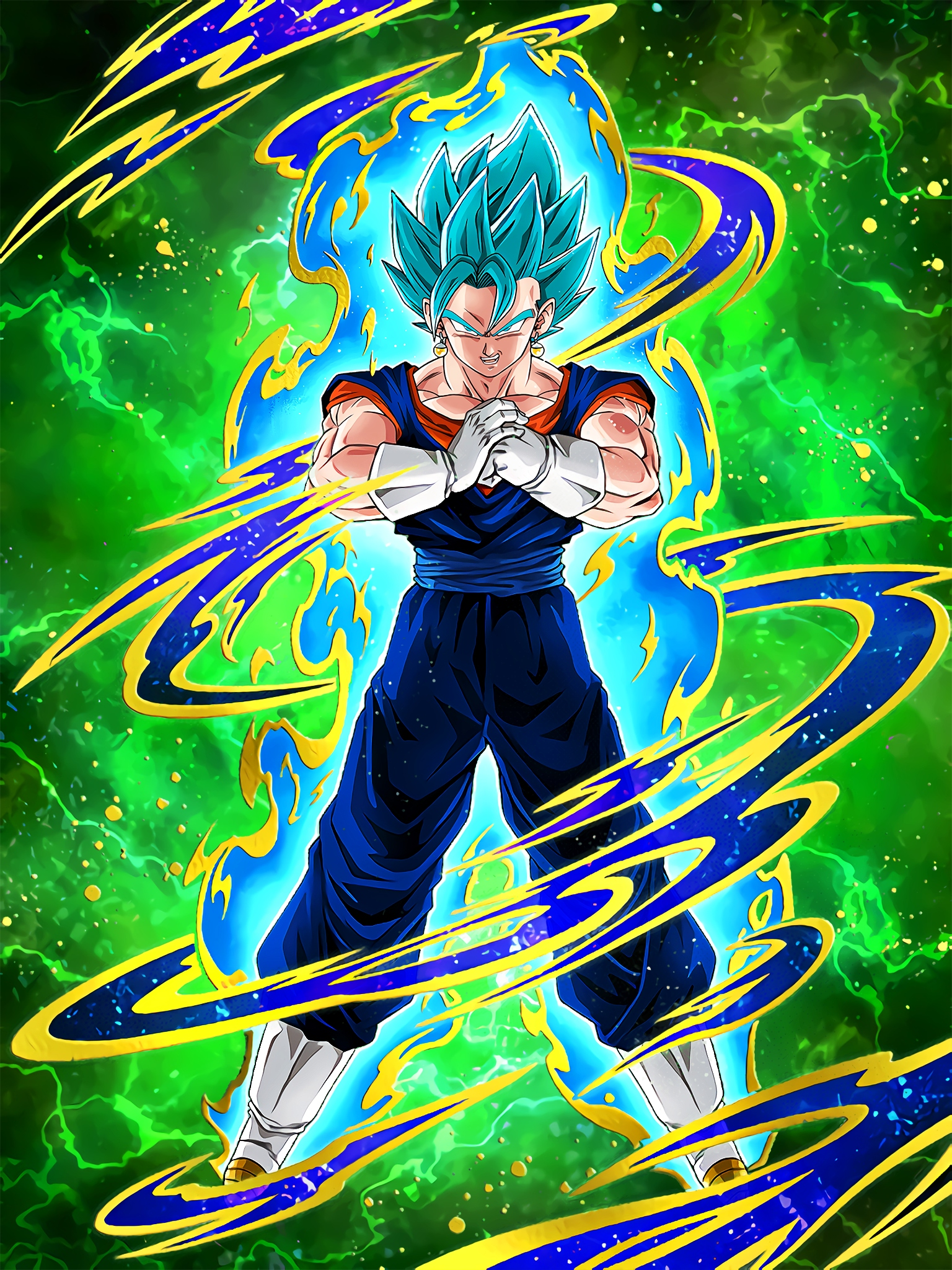 Azure Flash Super Saiyan God SS Vegito Art (Dragon Ball Z Dokkan Battle).jpg
