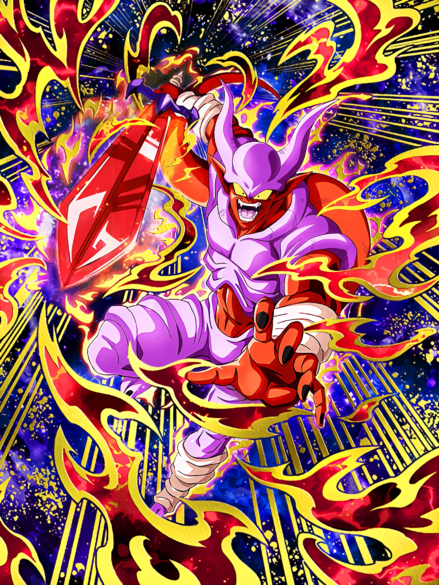 Evil Incursion Super Janemba Art (Dragon Ball Z Dokkan Battle).jpg