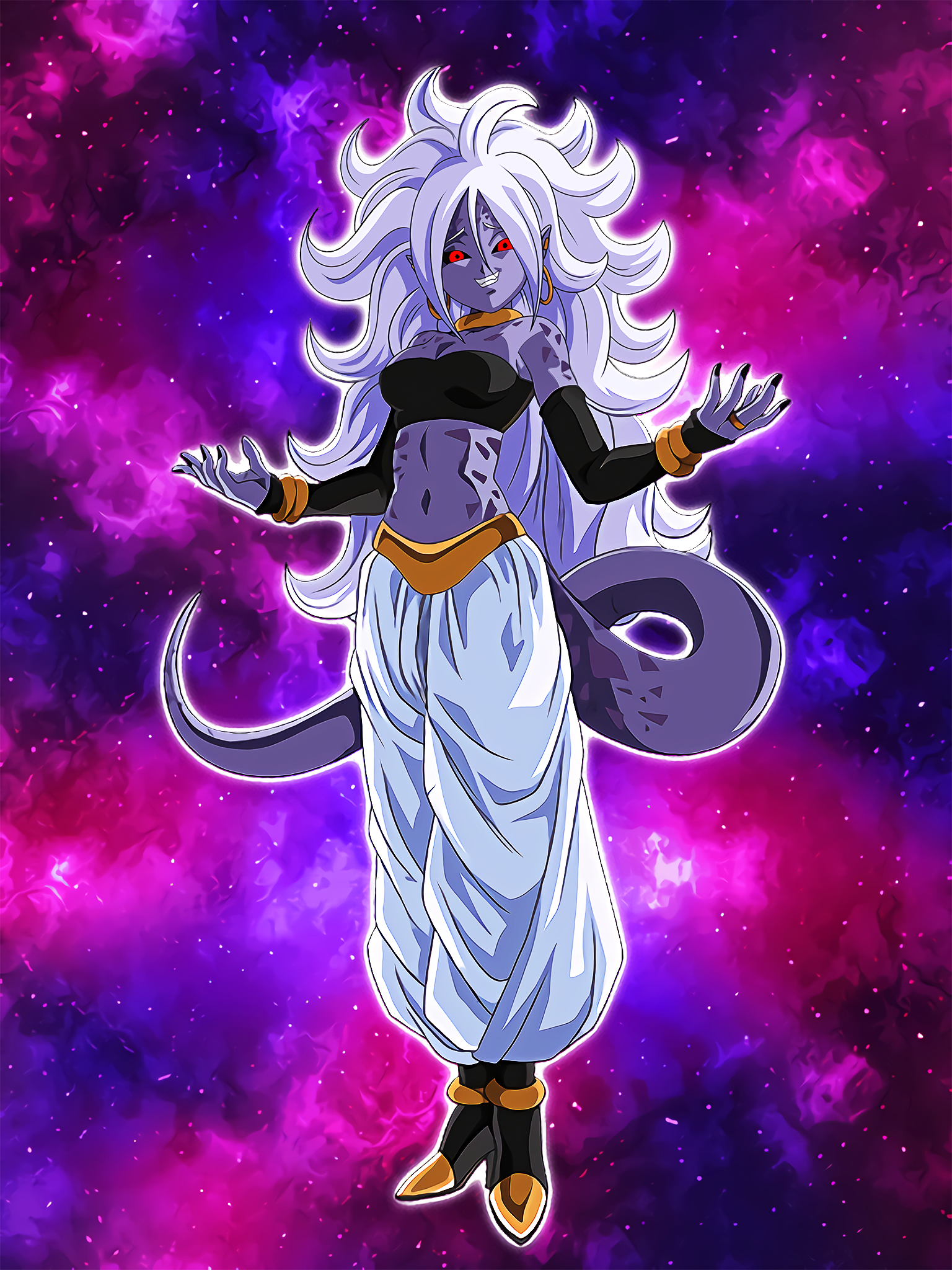 Savage Predatory Impulses Android 21 Cell Absorbed .png
