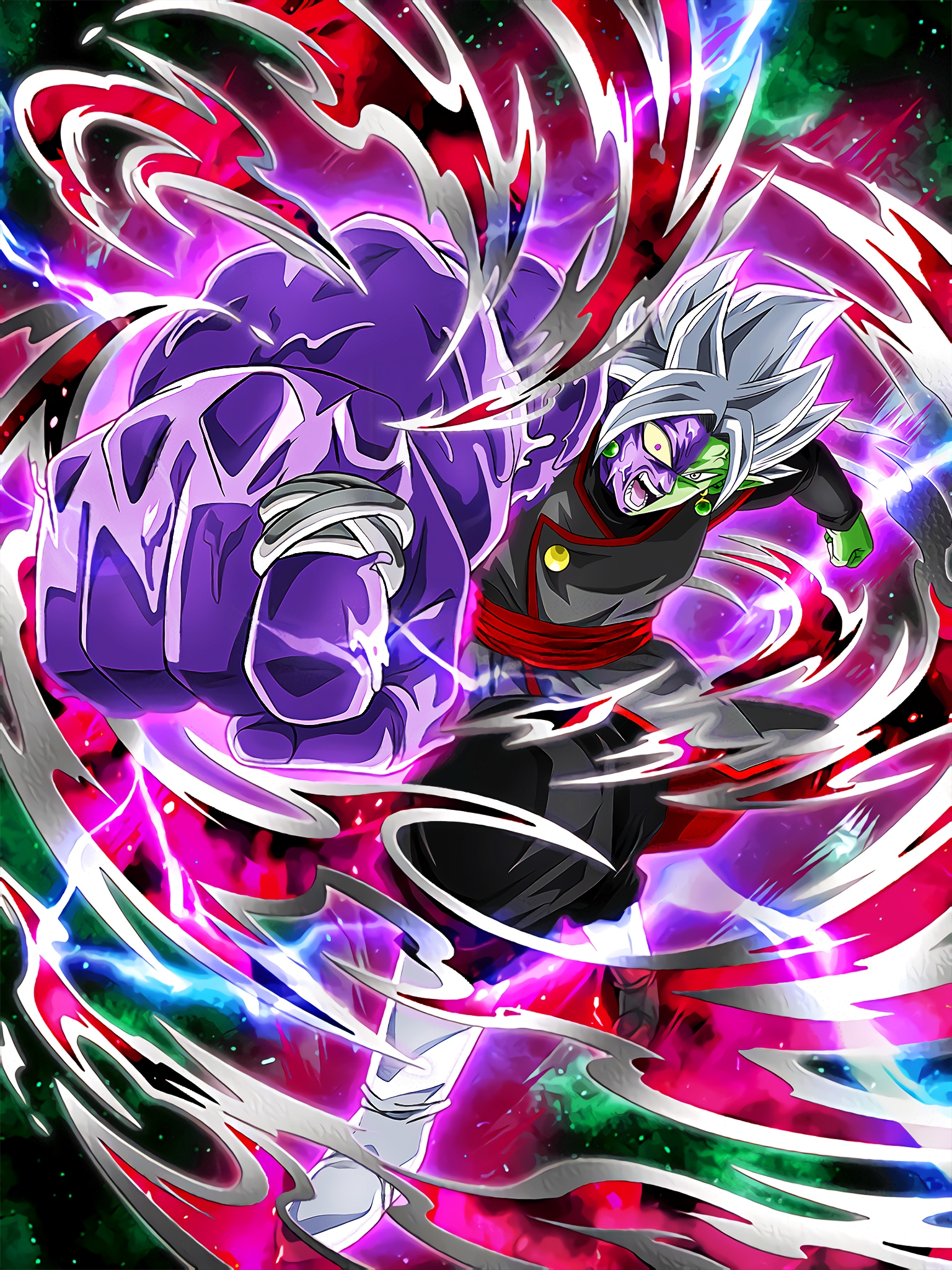 Wrath of the Absolute God Fusion Zamasu Art (Dragon Ball Z Dokkan Battle).jpg