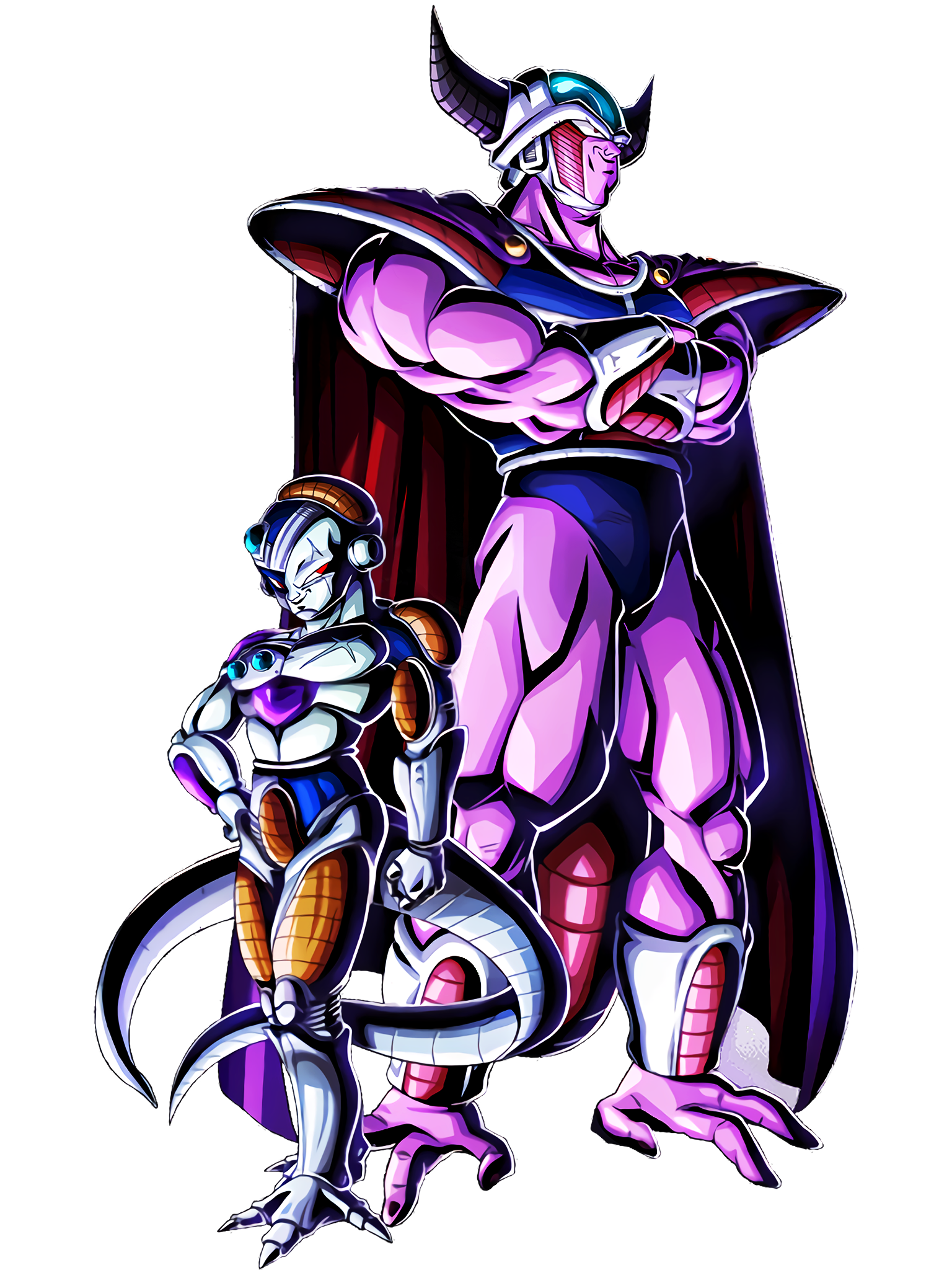 Counter Attack of the Most Evil Parent and Child Mecha Frieza & King Cold Render (Dragon Ball Z Dokkan Battle) .png