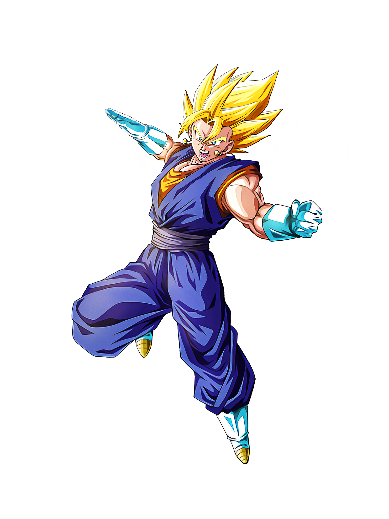 Limitless Radiance Super Vegito Render (Dragon Ball Z Dokkan Battle) .png