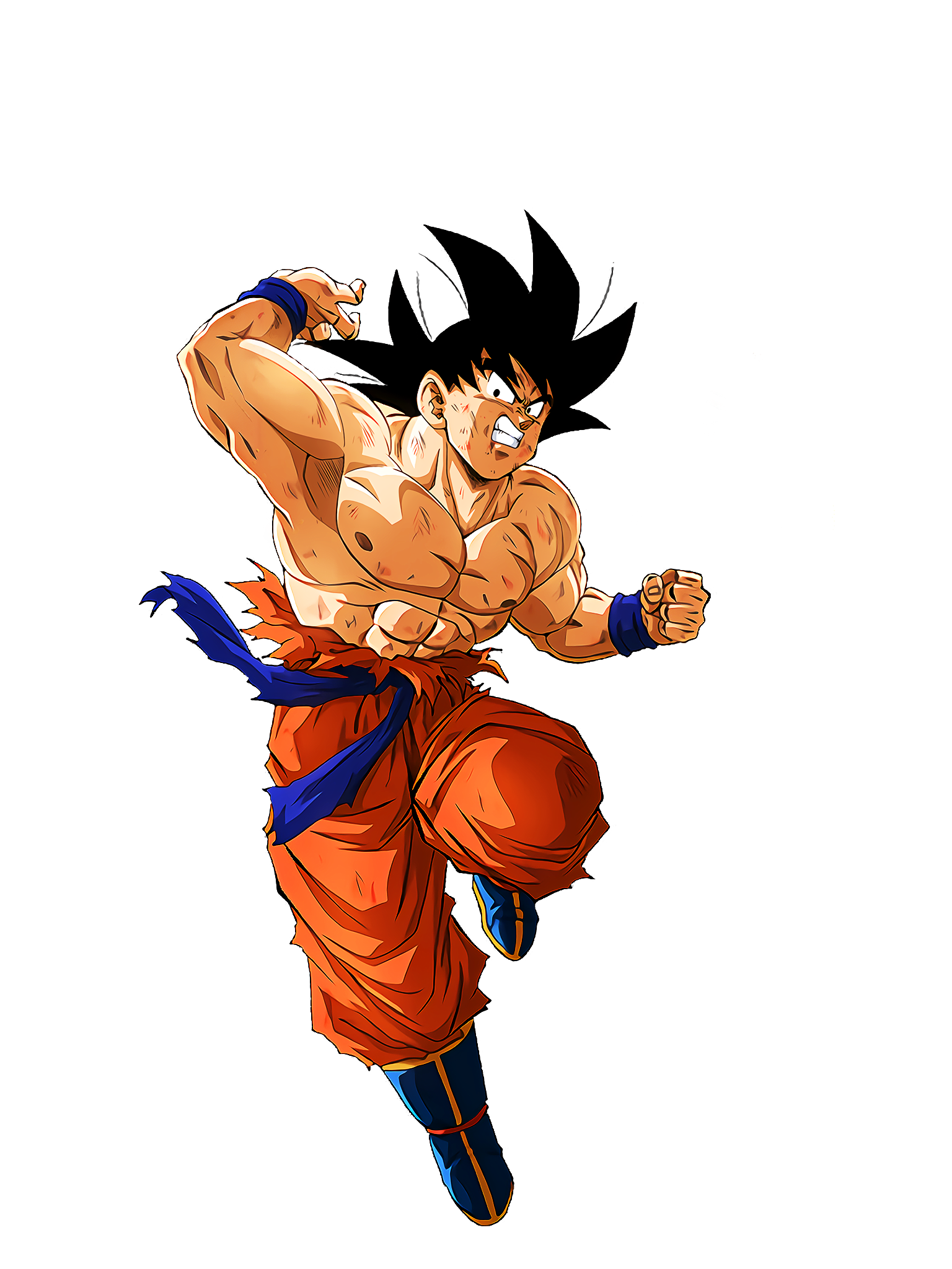 Opposing Life Energy Goku  Render (Dragon Ball Z Dokkan Battle) .png