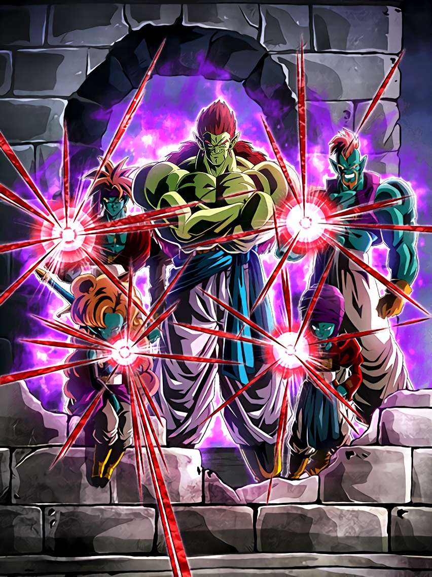Galactic Invasion Full Power Boujack Galactic Warriors Art (Dragon Ball Z Dokkan Battle)