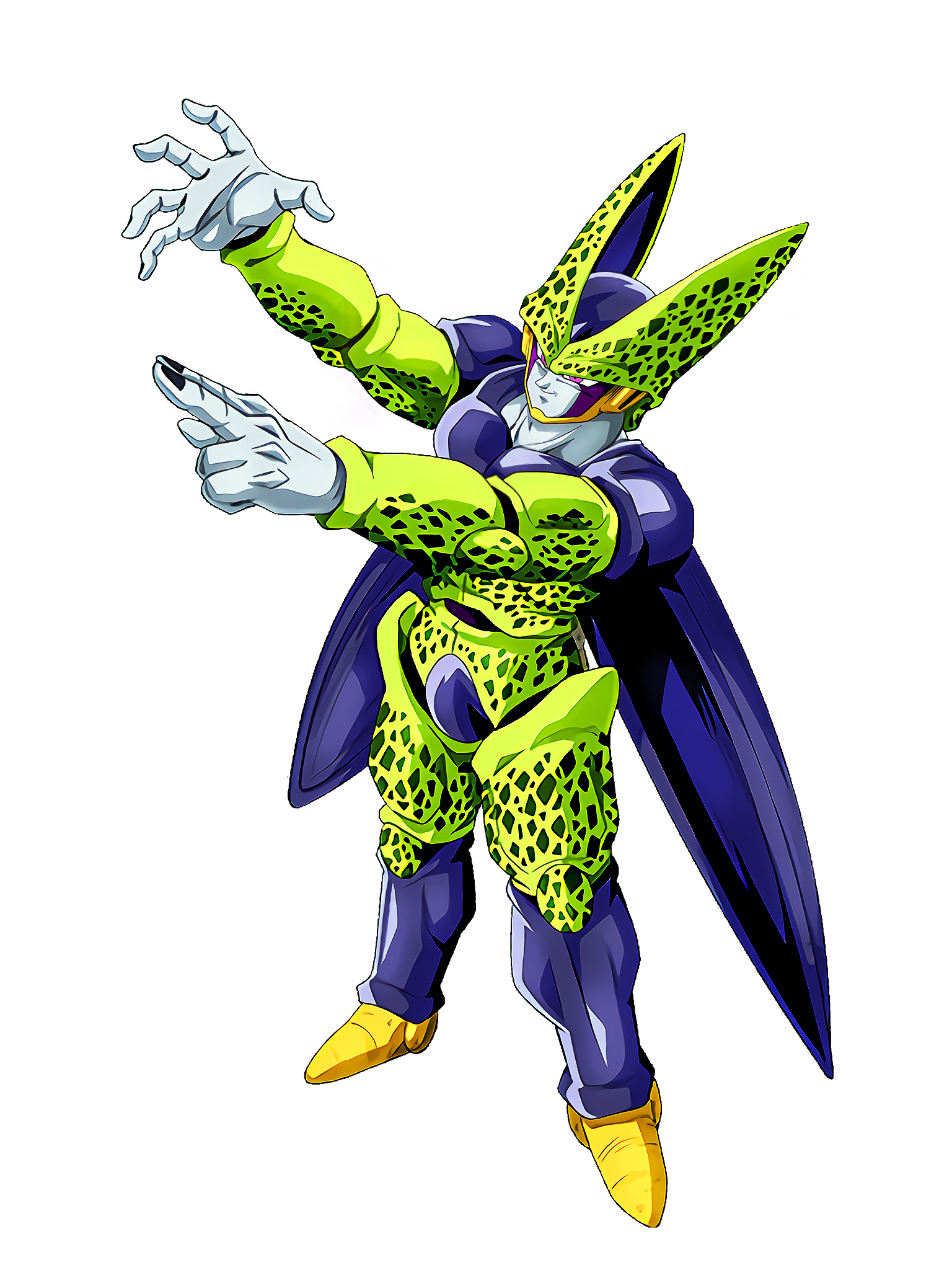 Power Margin Cell Perfect Form Render (Dragon Ball Z Dokkan Battle) .png