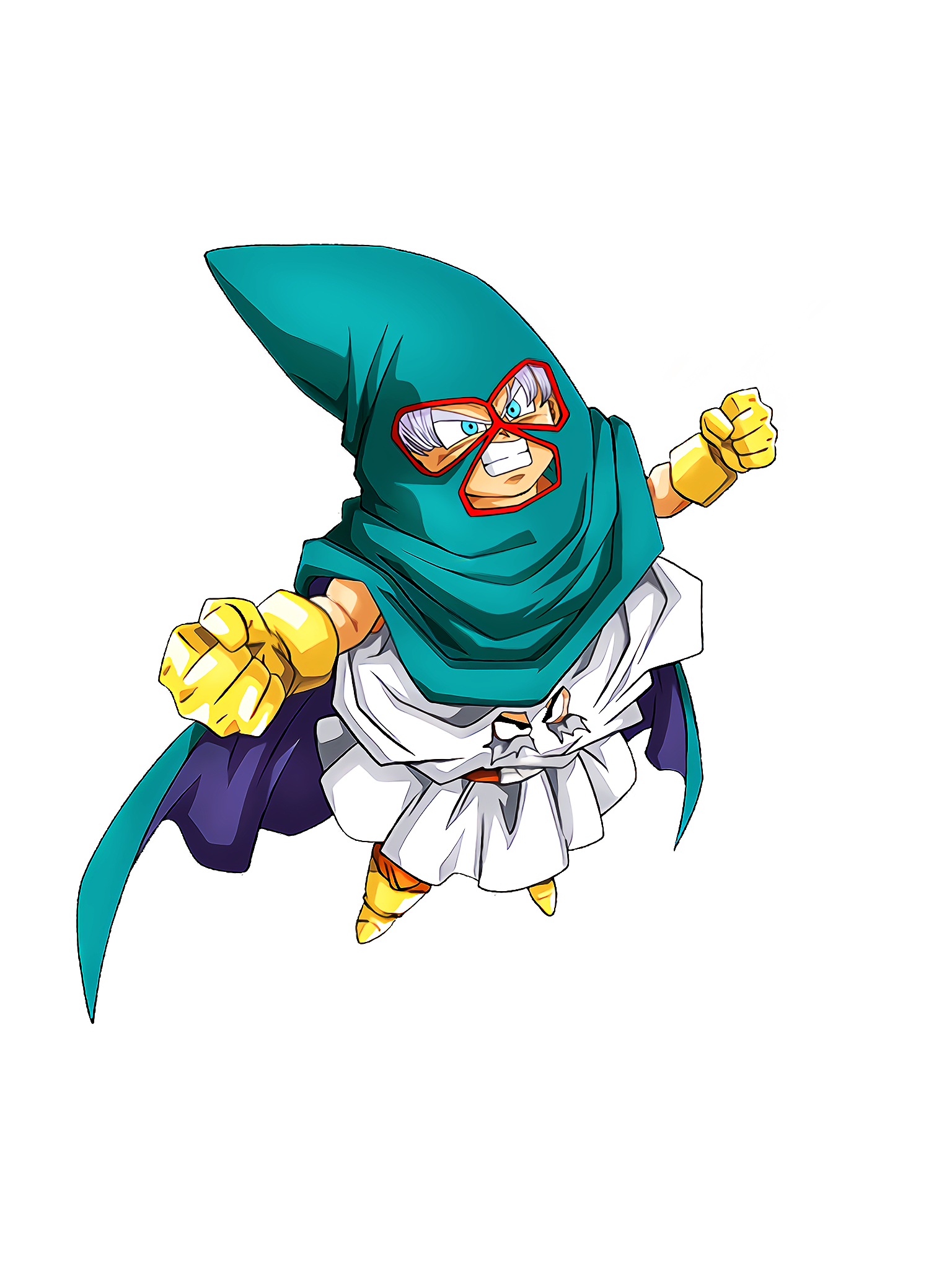 Plucky Little Fighters Mighty Mask Render (Dragon Ball Z Dokkan Battle) .png