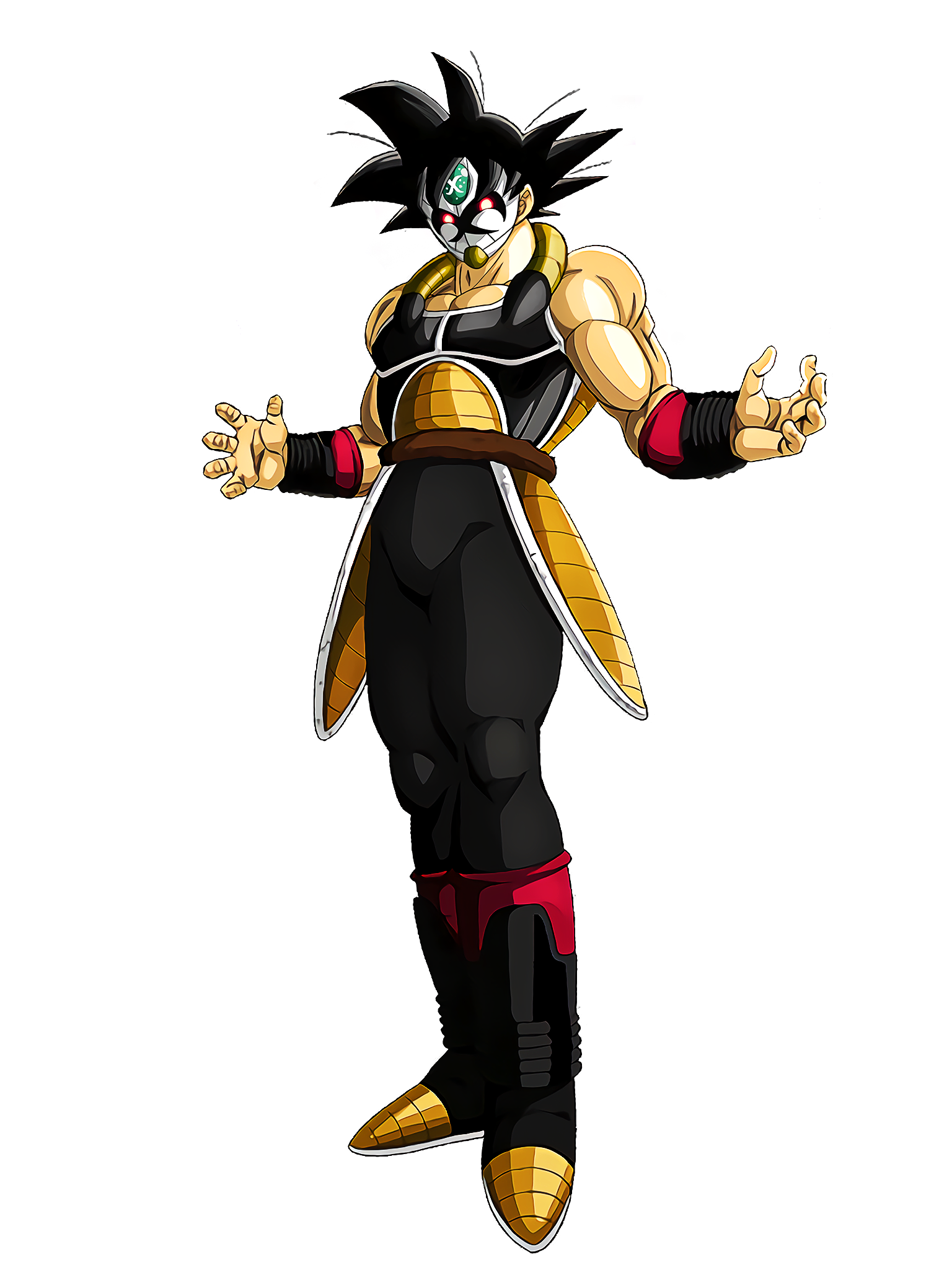 Shrouded in Mysteries Masked Saiyan Render (Dragon Ball Z Dokkan Battle) .png