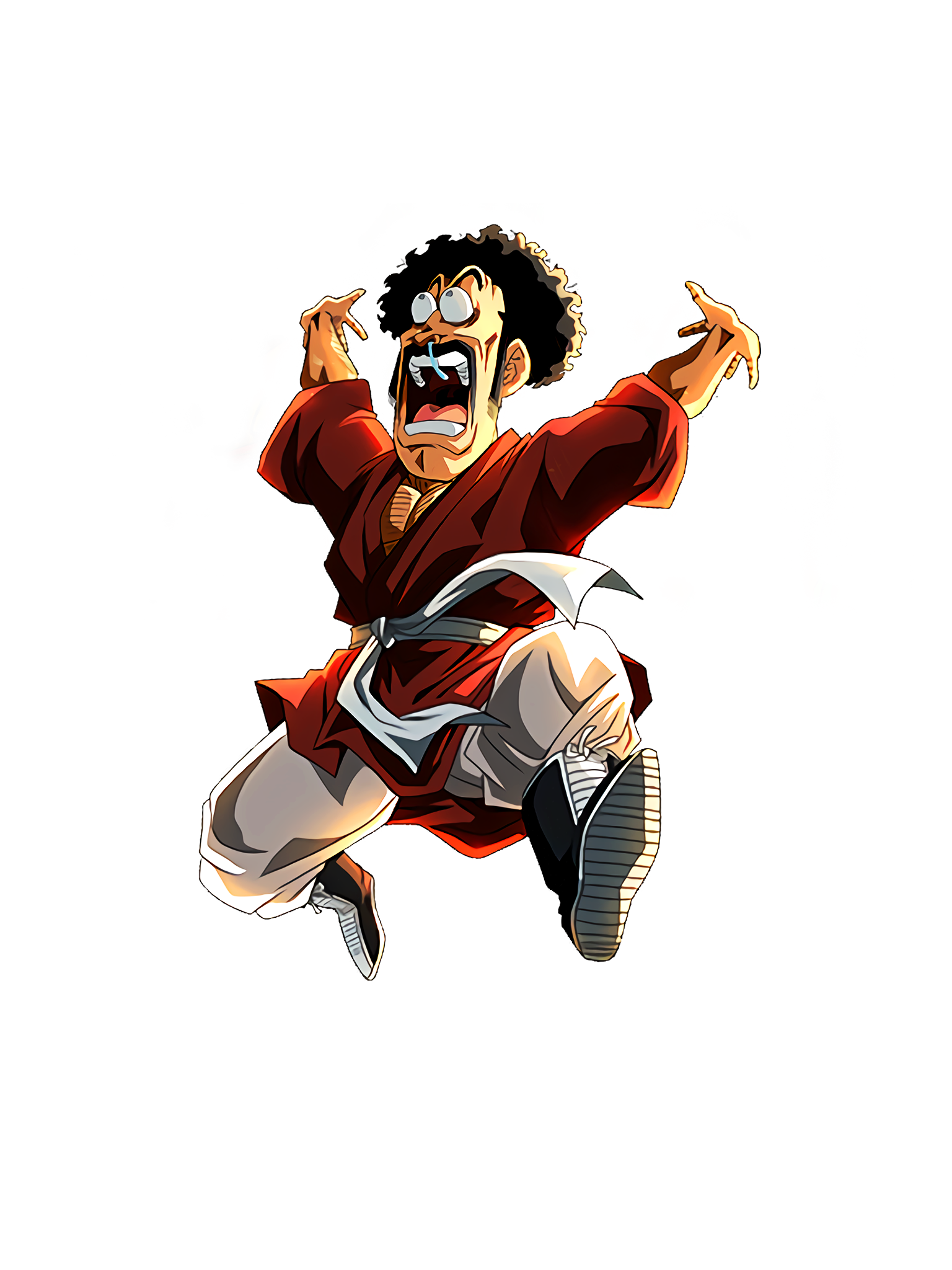 Valiance in the Universe Mr Satan Render (Dragon Ball Z Dokkan Battle) .png