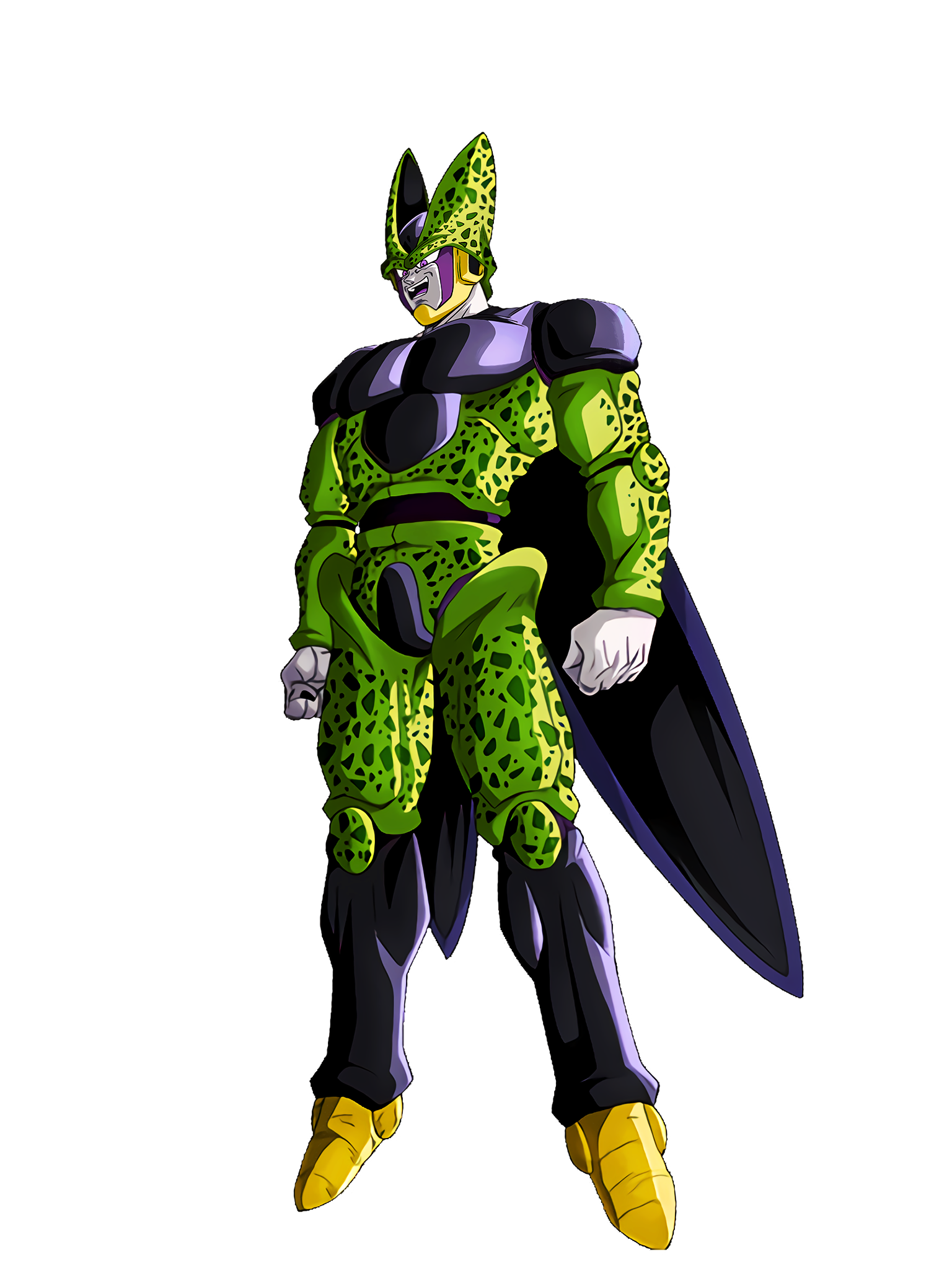 The Beginning of the Battle of Hell Cell Perfect Form Render (Dragon Ball Z Dokkan Battle) .png