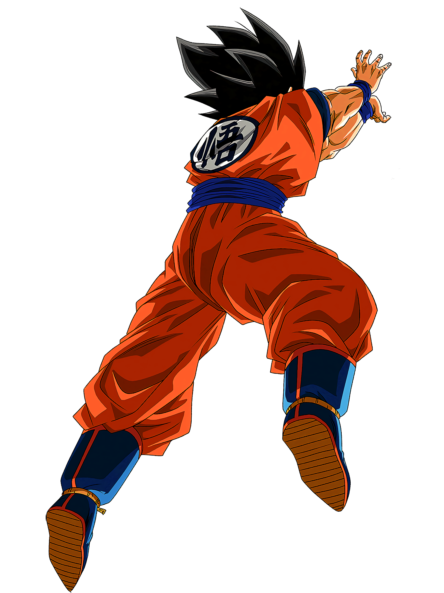 Goku Summon Animation 2 HD Render (Dragon Ball Z Dokkan Battle) .png