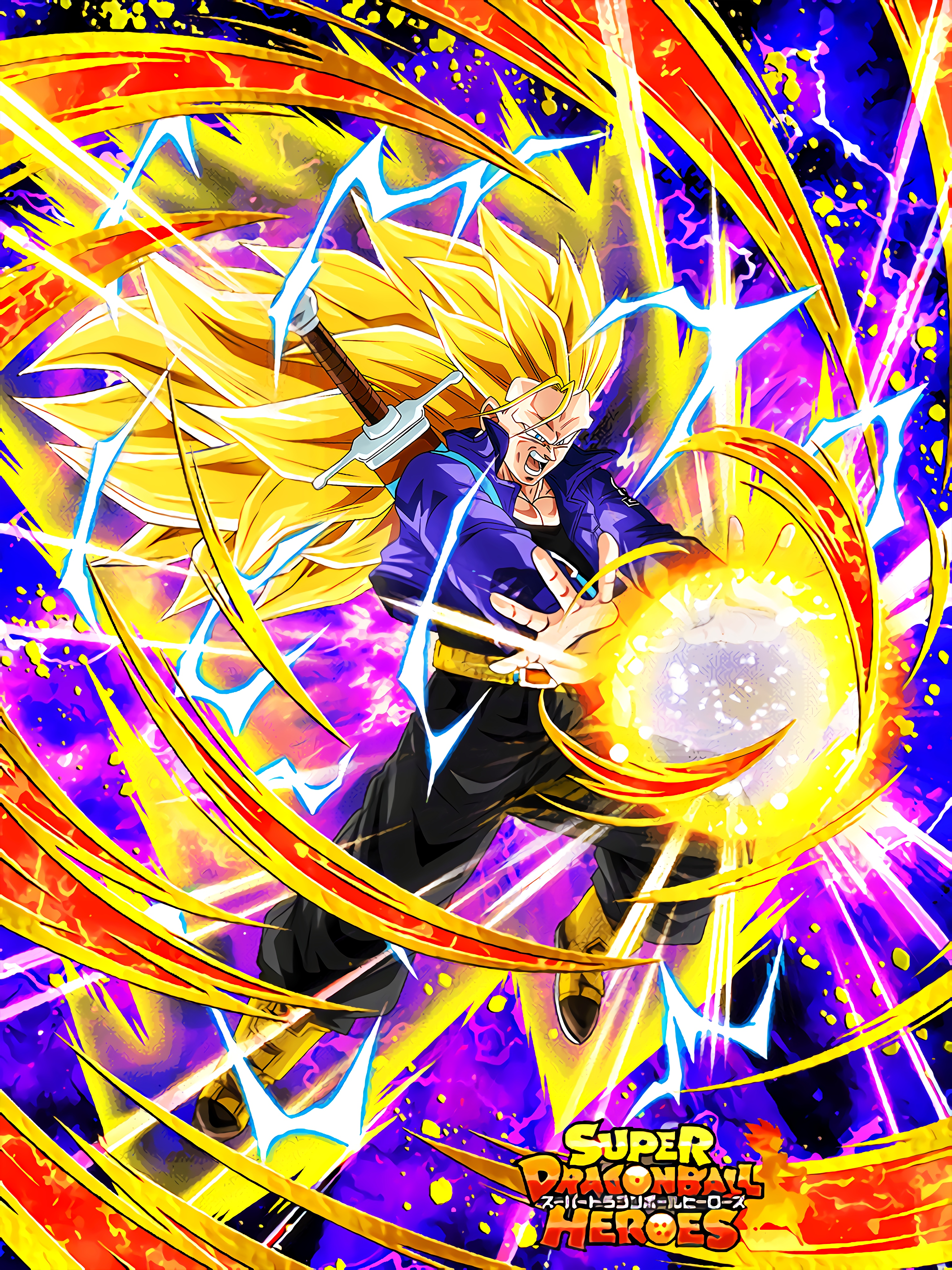 Newly Created Power Super Saiyan 3 Trunks  Art (Dragon Ball Z Dokkan Battle).jpg