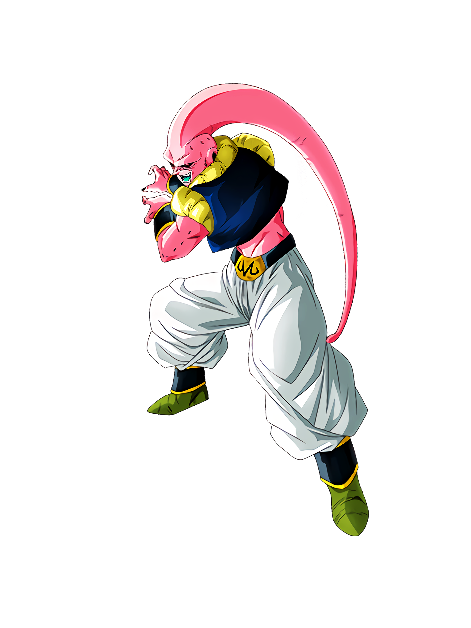 Amazing Absorption Capacity Buu Gotenks Absorbed Render (Dragon Ball Z Dokkan Battle) .png