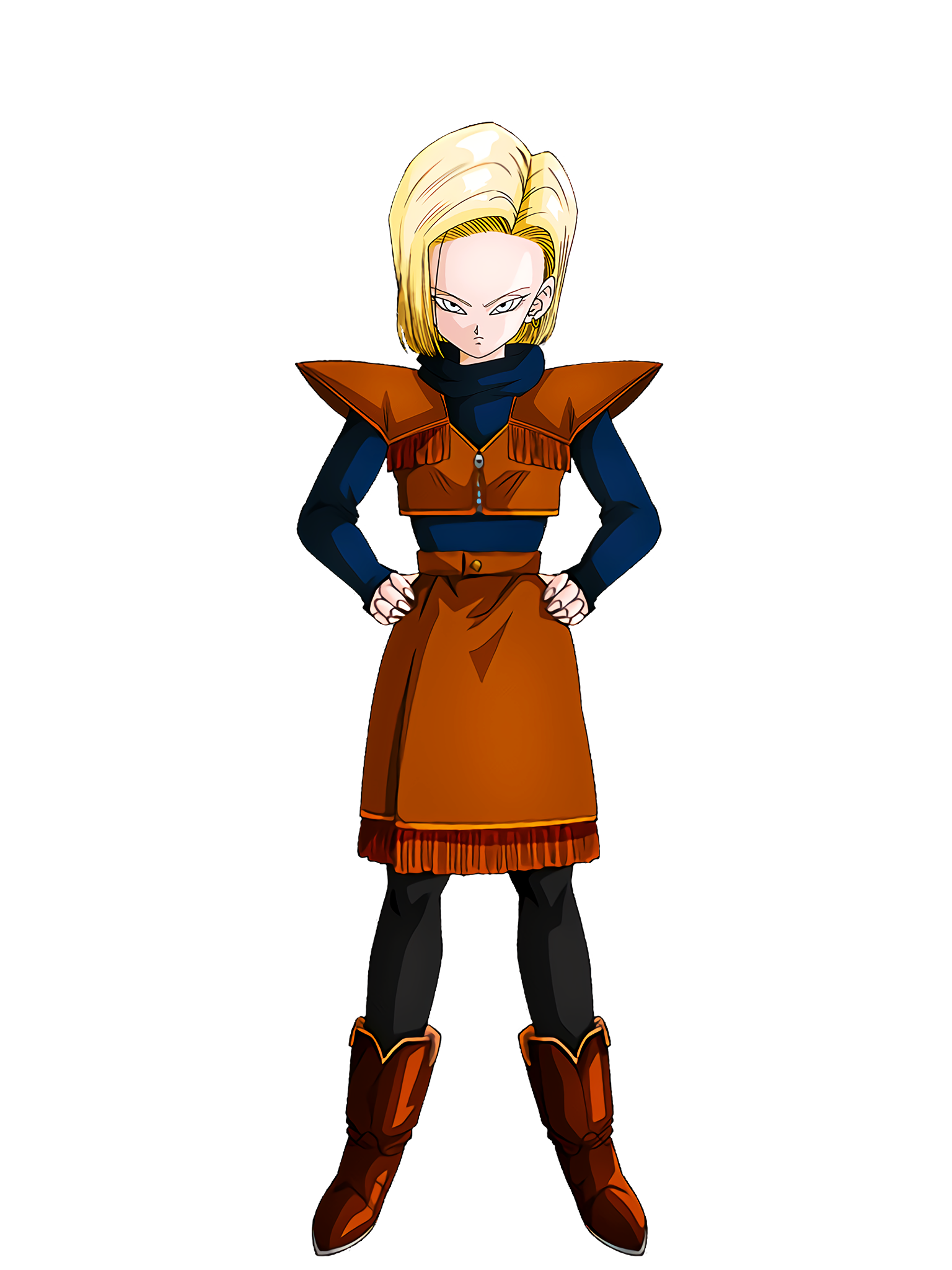 A Silent Threat Android 18 Render (Dragon Ball Z Dokkan Battle) .png