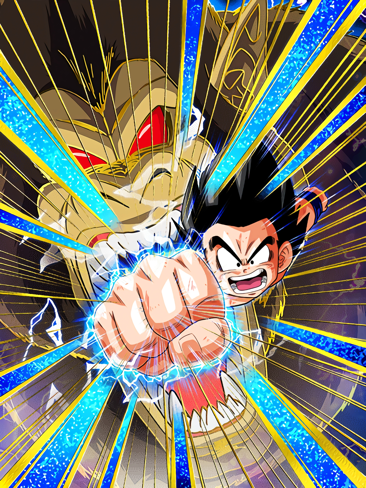 All-or-nothing Punch Goku Youth Art (Dragon Ball Z Dokkan Battle) .jpg