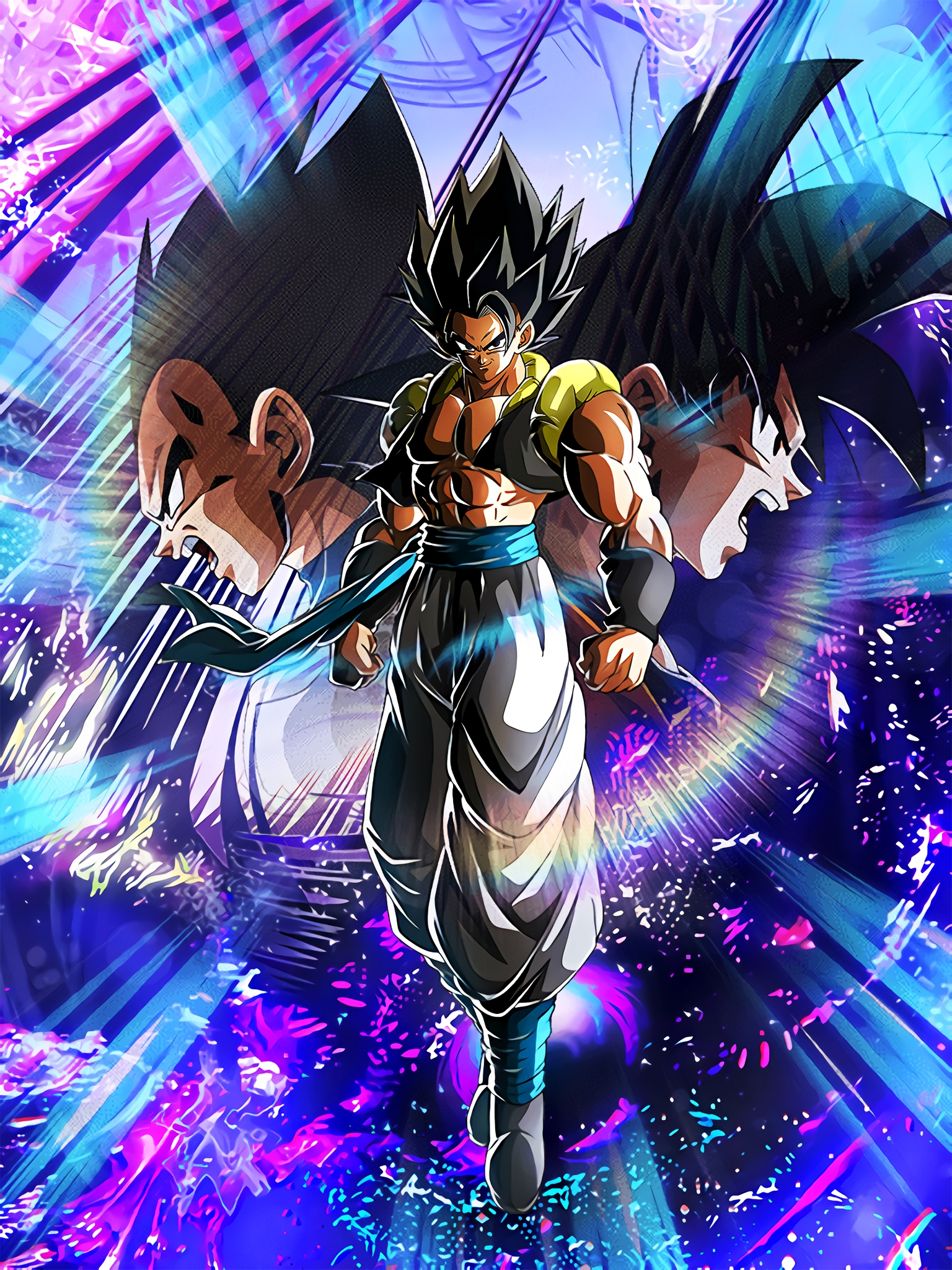 The Strongest Ultimate Fusion Gogeta Art (Dragon Ball Z Dokkan Battle).jpg