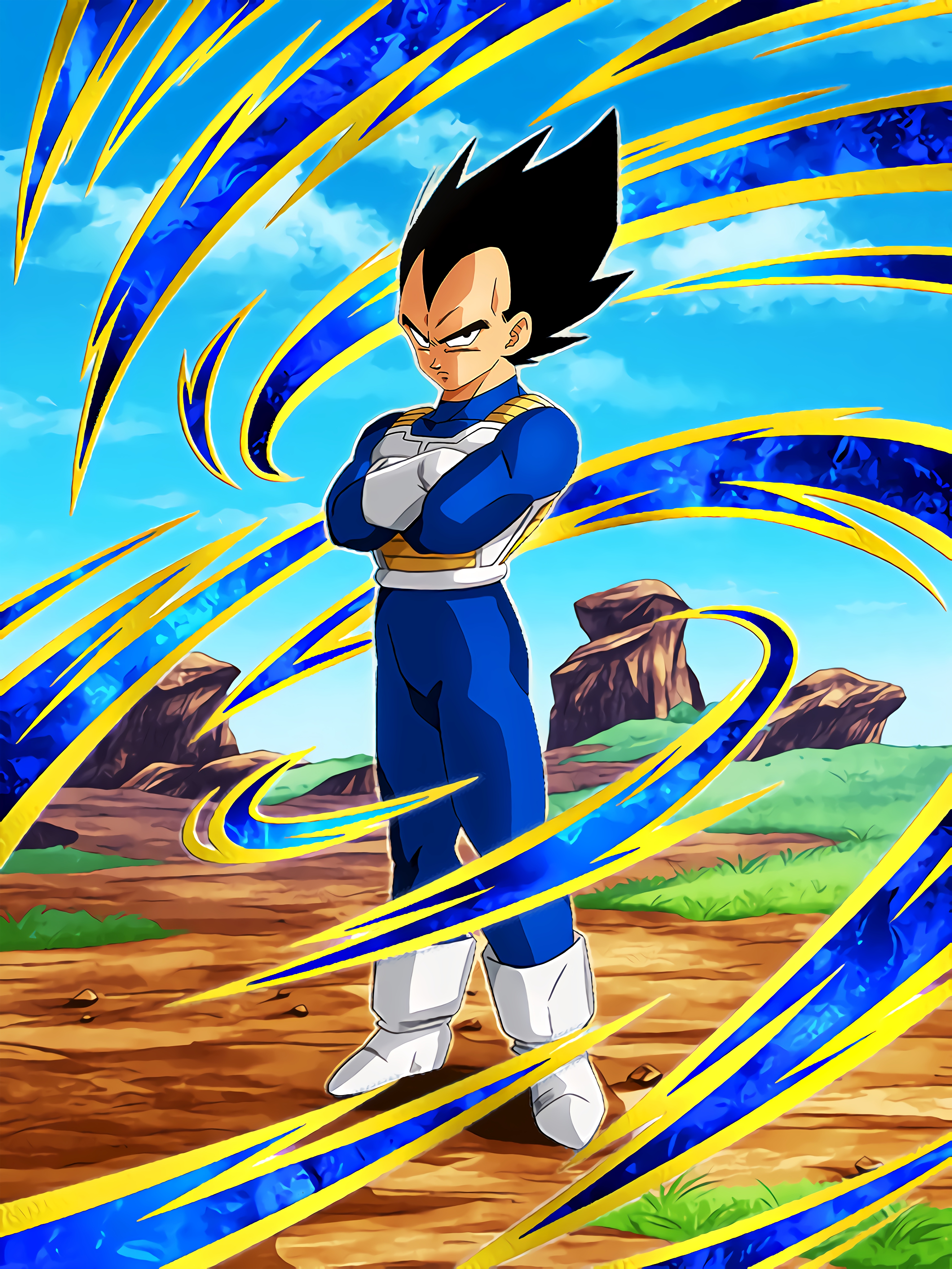 Universe's Top Warrior Race Vegeta Art (Dragon Ball Z Dokkan Battle).jpg