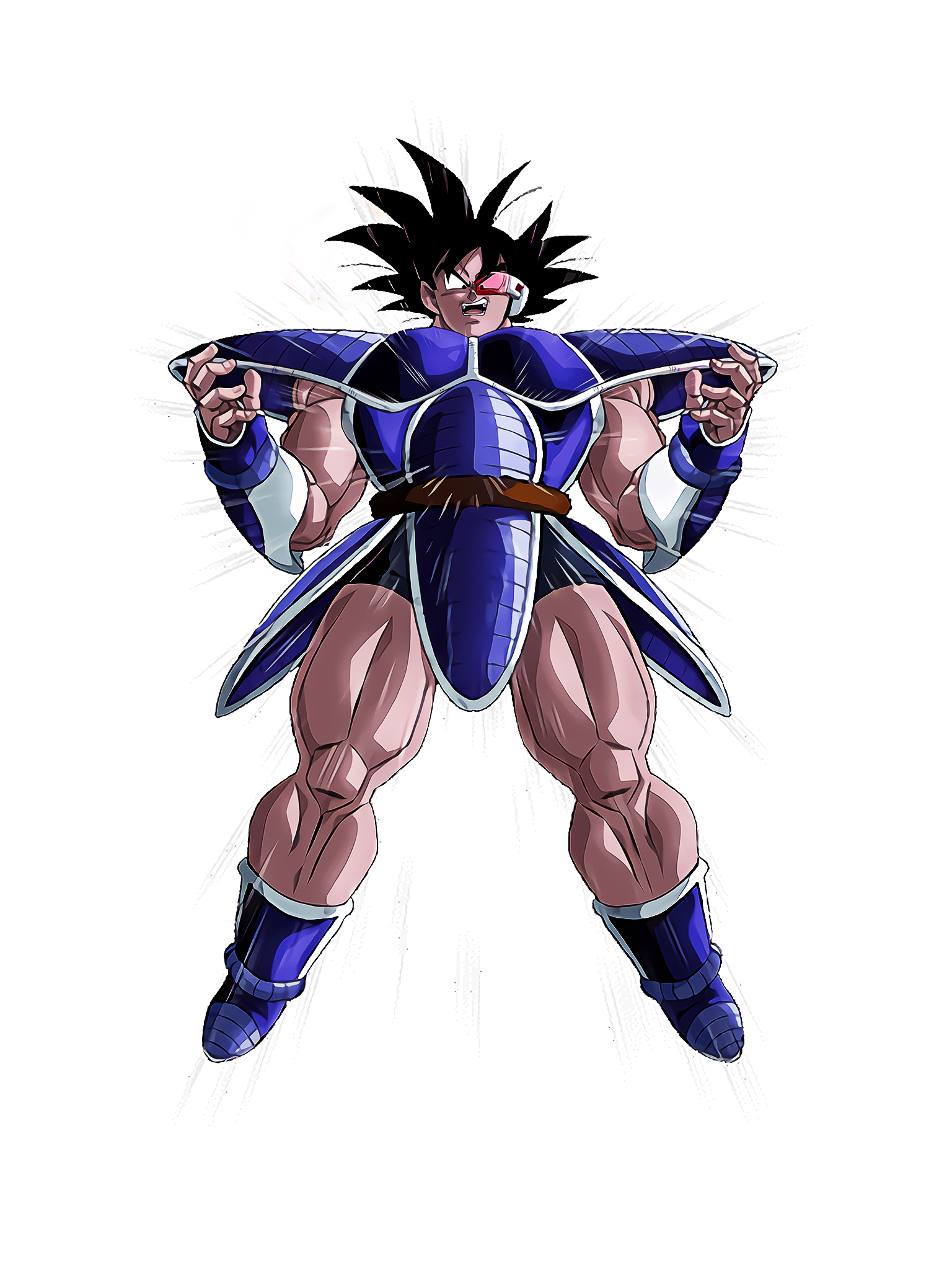 Explosive Transformation Turles Render (Dragon Ball Z Dokkan Battle) .png