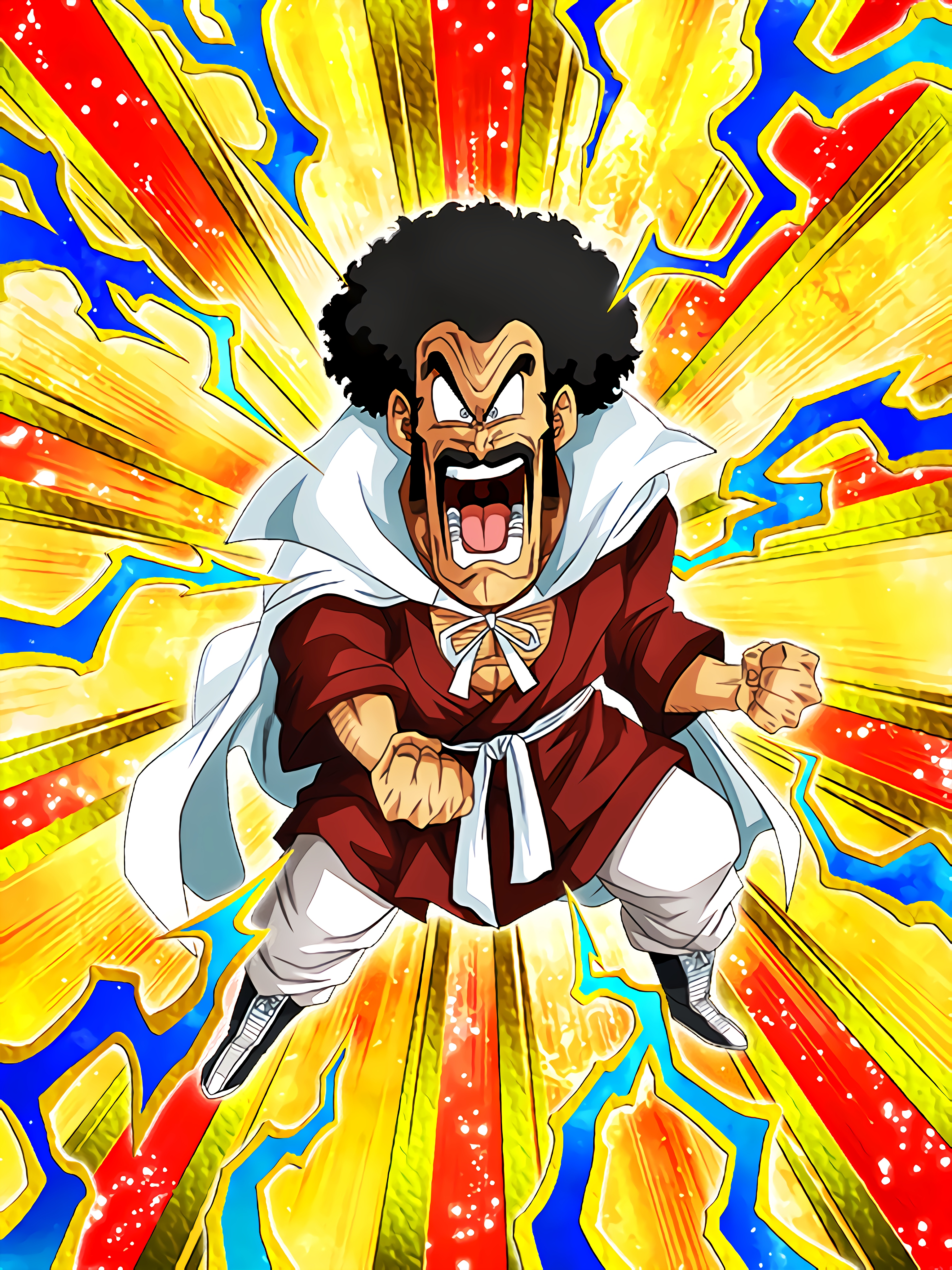 Strongest Champion Battle Mr Satan Art (Dragon Ball Z Dokkan Battle).jpg