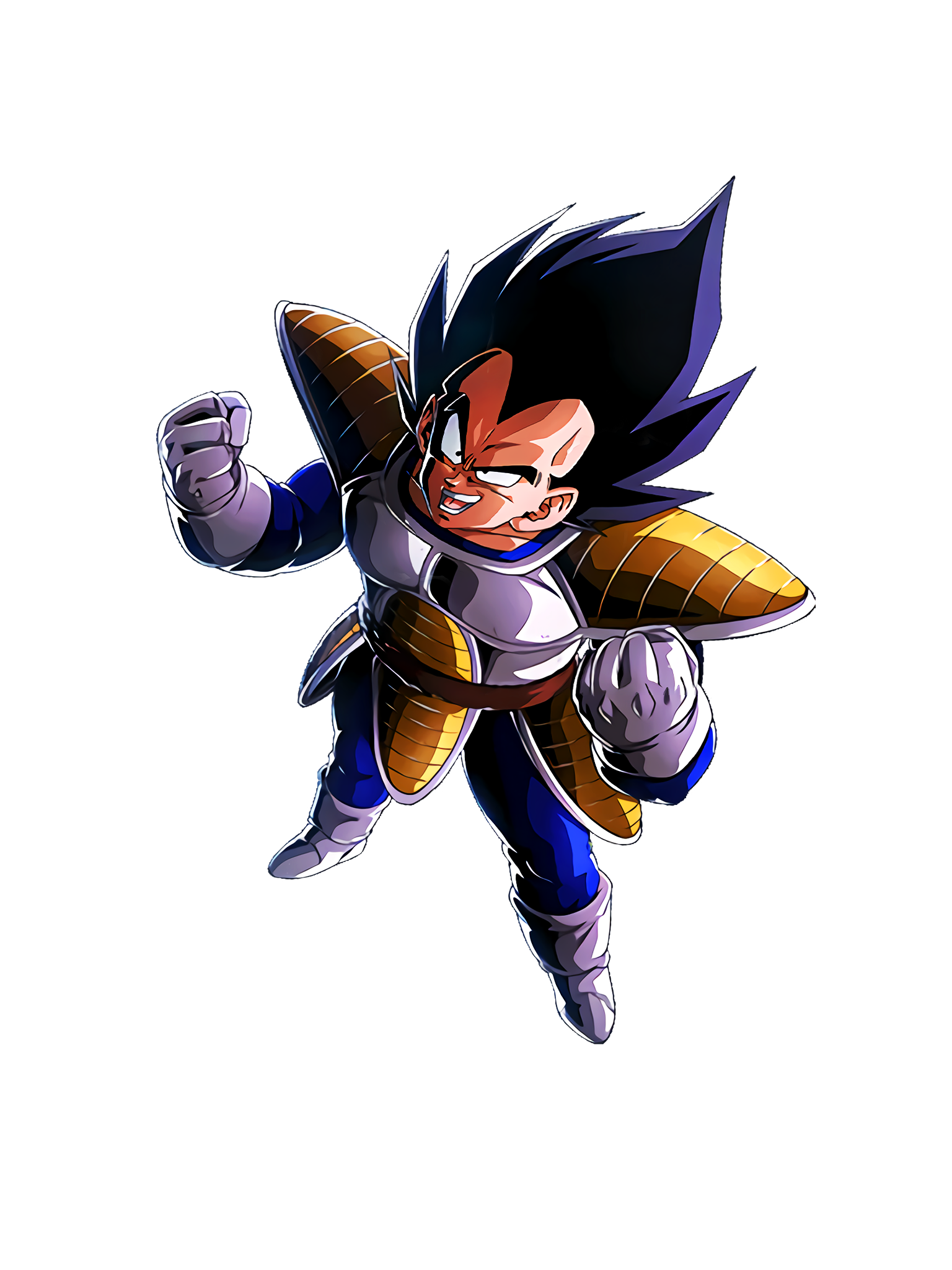 Brutal Saiyan of Fury Vegeta Render (Dragon Ball Z Dokkan Battle) .png