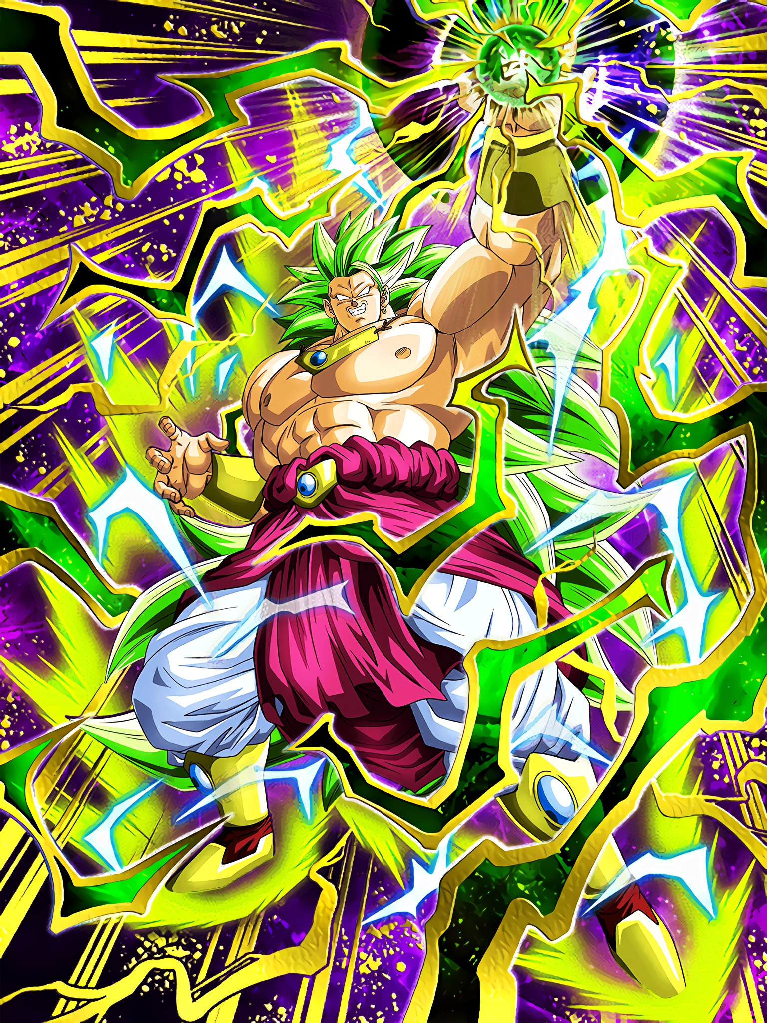 Mythic Evolution Super Saiyan 3 Broly Art (Dragon Ball Z Dokkan Battle).jpg