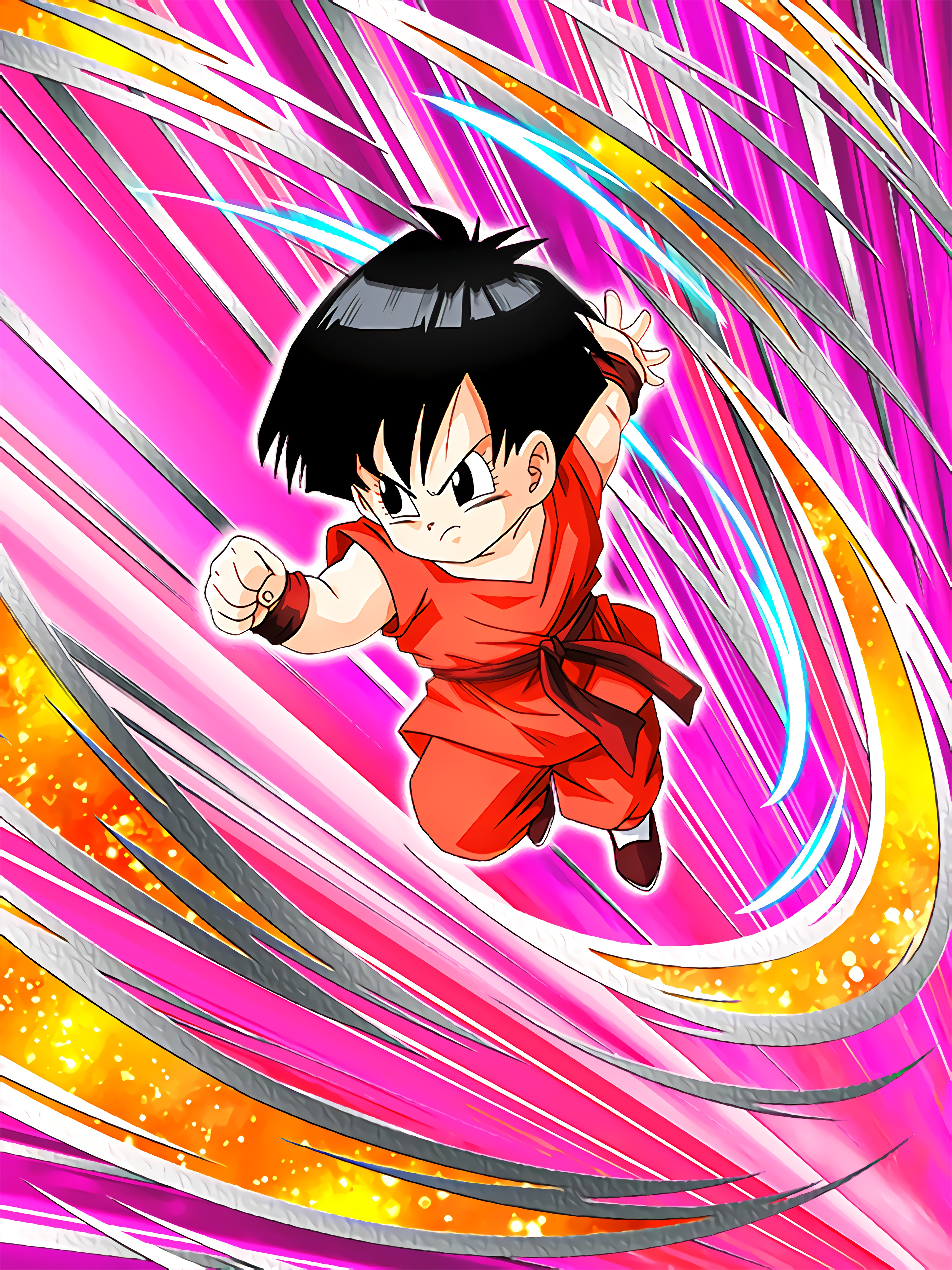 Super Power with the Expectation Pan Kid Art (Dragon Ball Z Dokkan Battle)