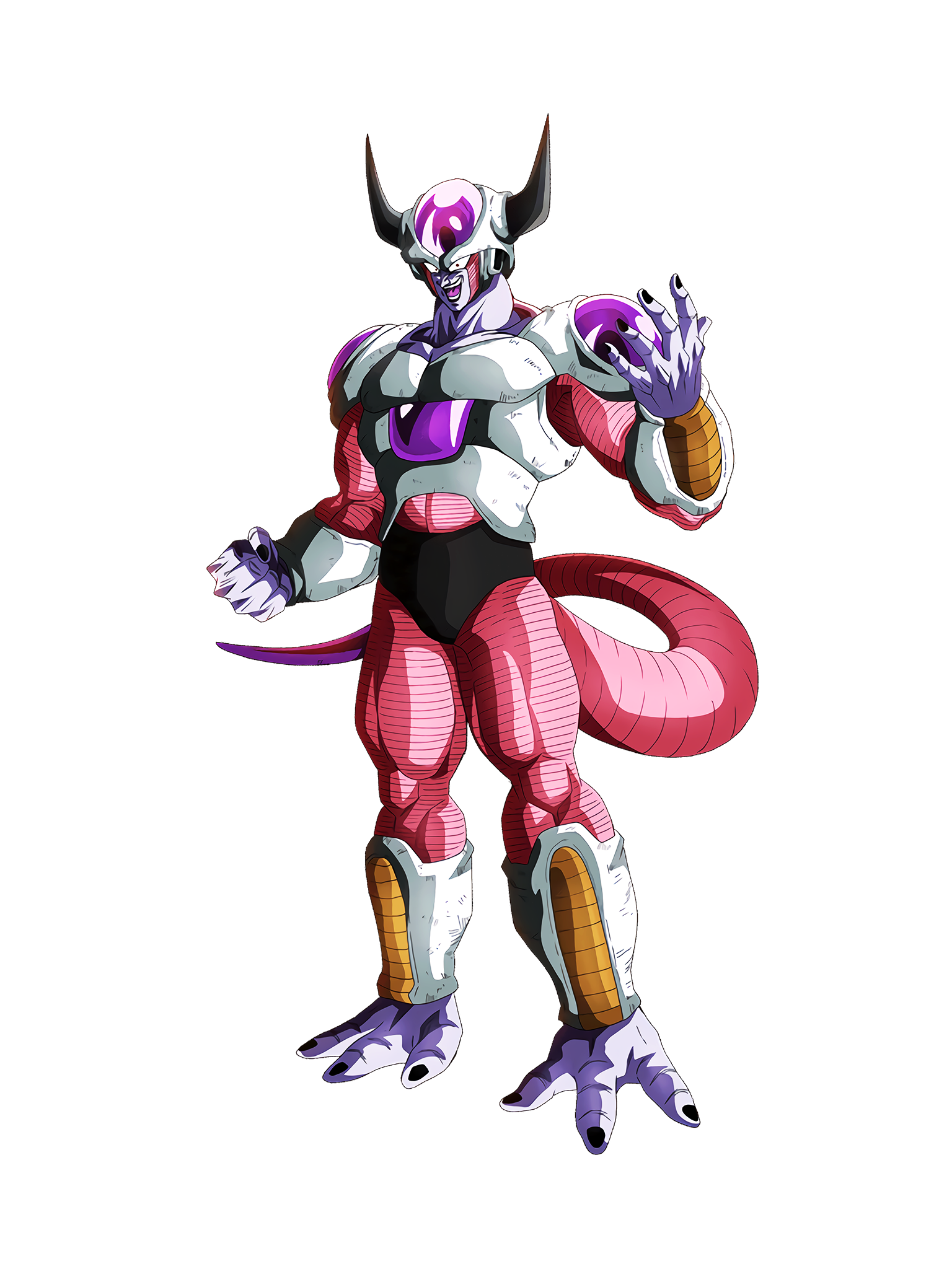 Glacial Prestige Frieza 2nd Form Render (Dragon Ball Z Dokkan Battle) .png