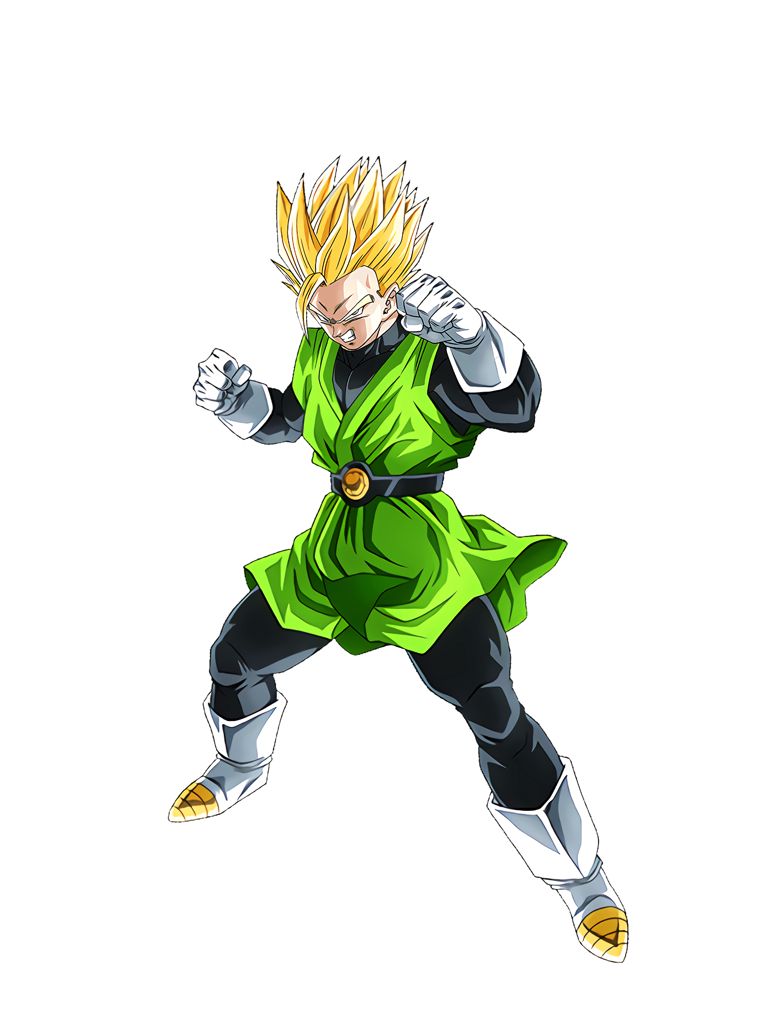 Shining-Gold Justice Great Saiyaman SS2 Render (Dragon Ball Z Dokkan Battle) .png