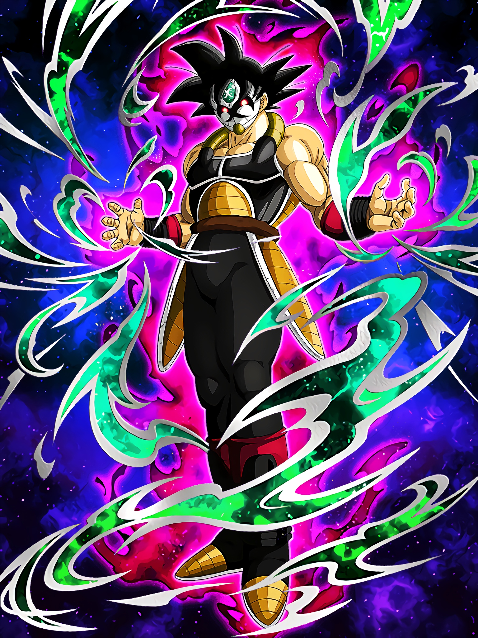 Shrouded in Mysteries Masked Saiyan  Art (Dragon Ball Z Dokkan Battle).jpg