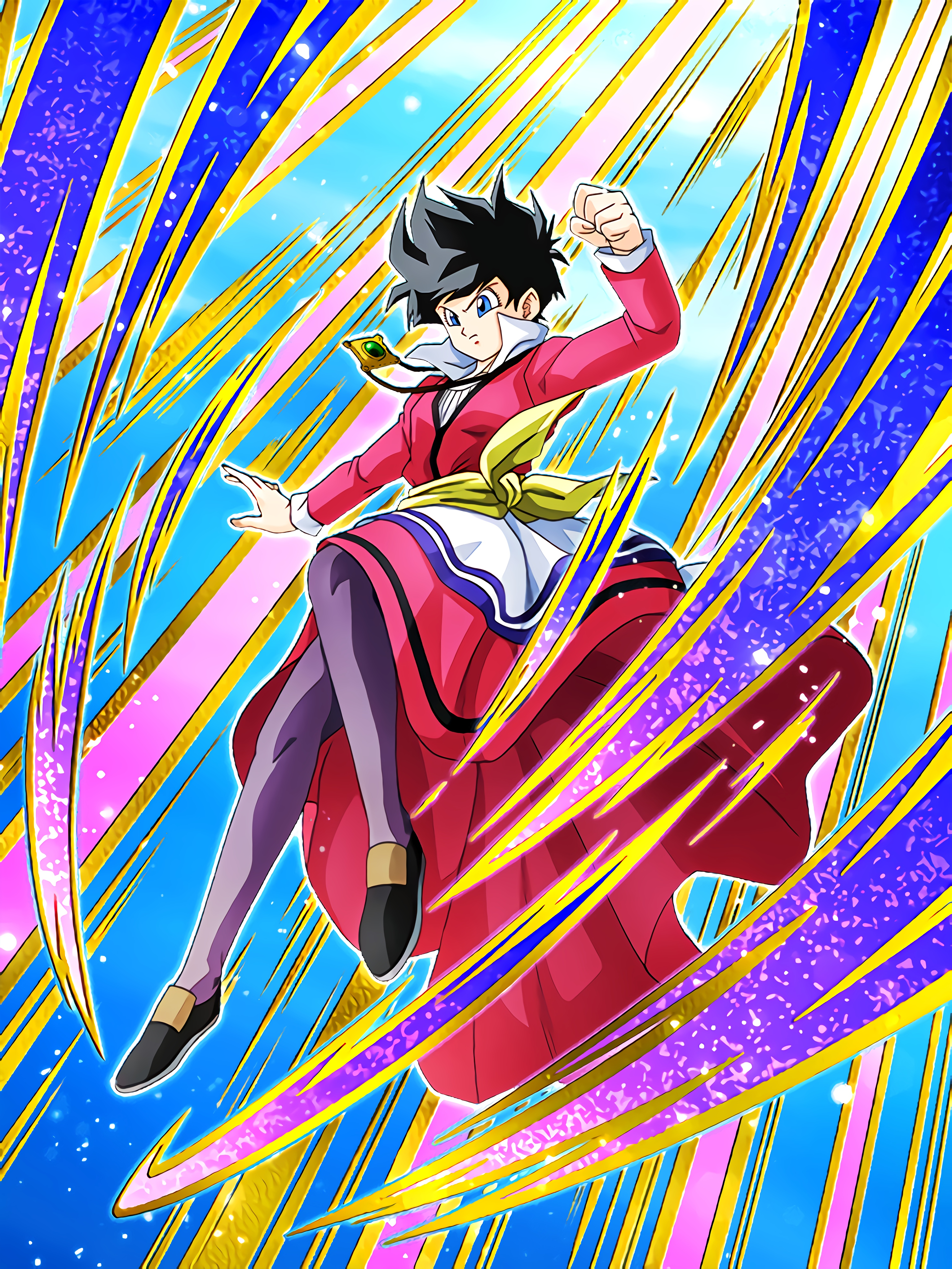 Indomitable Frontal Breakthrough Videl Art (Dragon Ball Z Dokkan Battle)