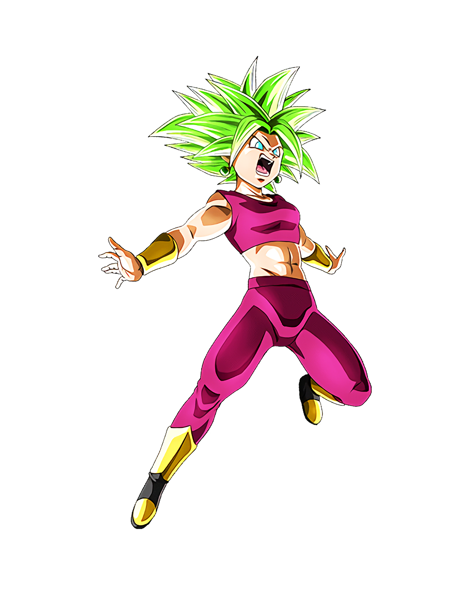 SSJ2 Kefla DBS Render (Dragon Ball Z Dokkan Battle).png