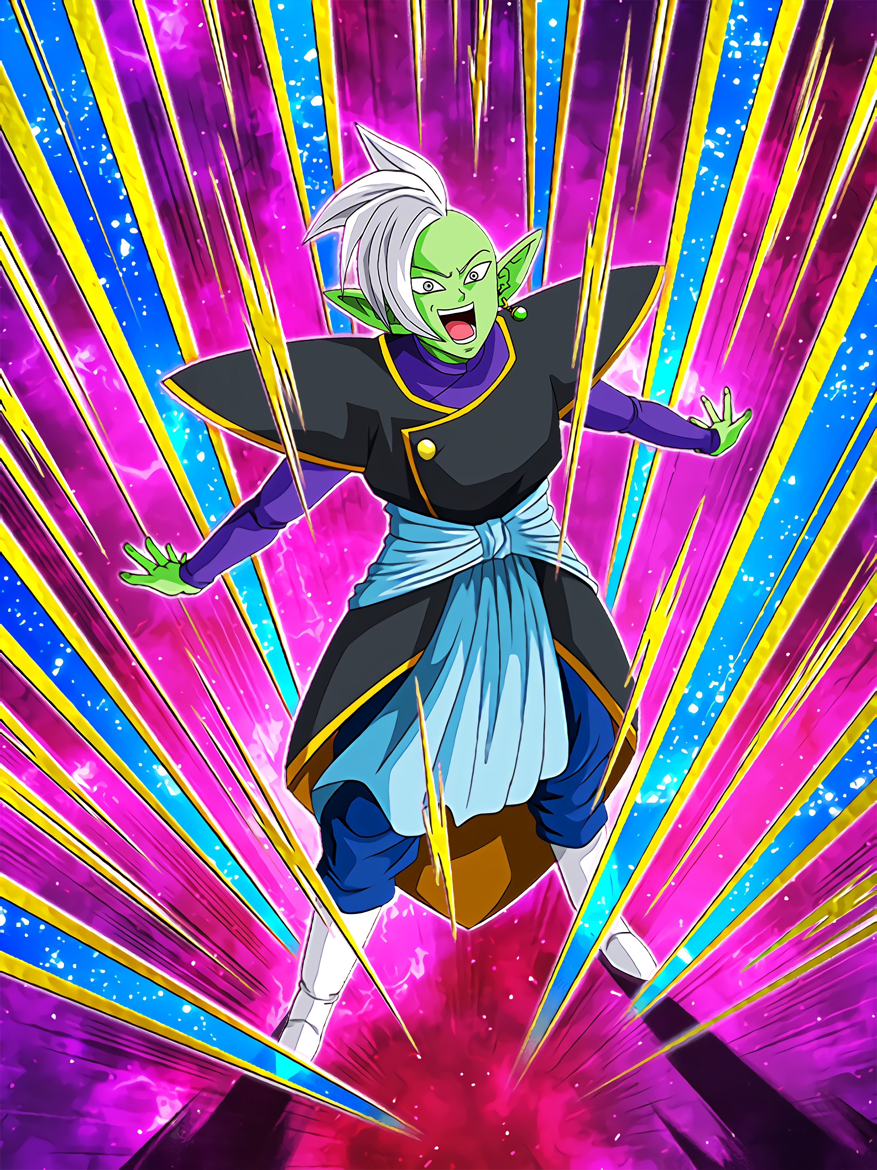 Execution of Justice and Euphoria Zamasu Art (Dragon Ball Z Dokkan Battle).jpg