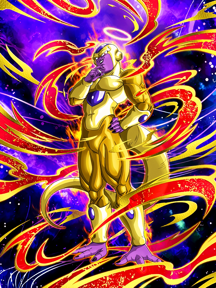Revived Emperor Golden Frieza Angel Art (Dragon Ball Z Dokkan Battle).jpg