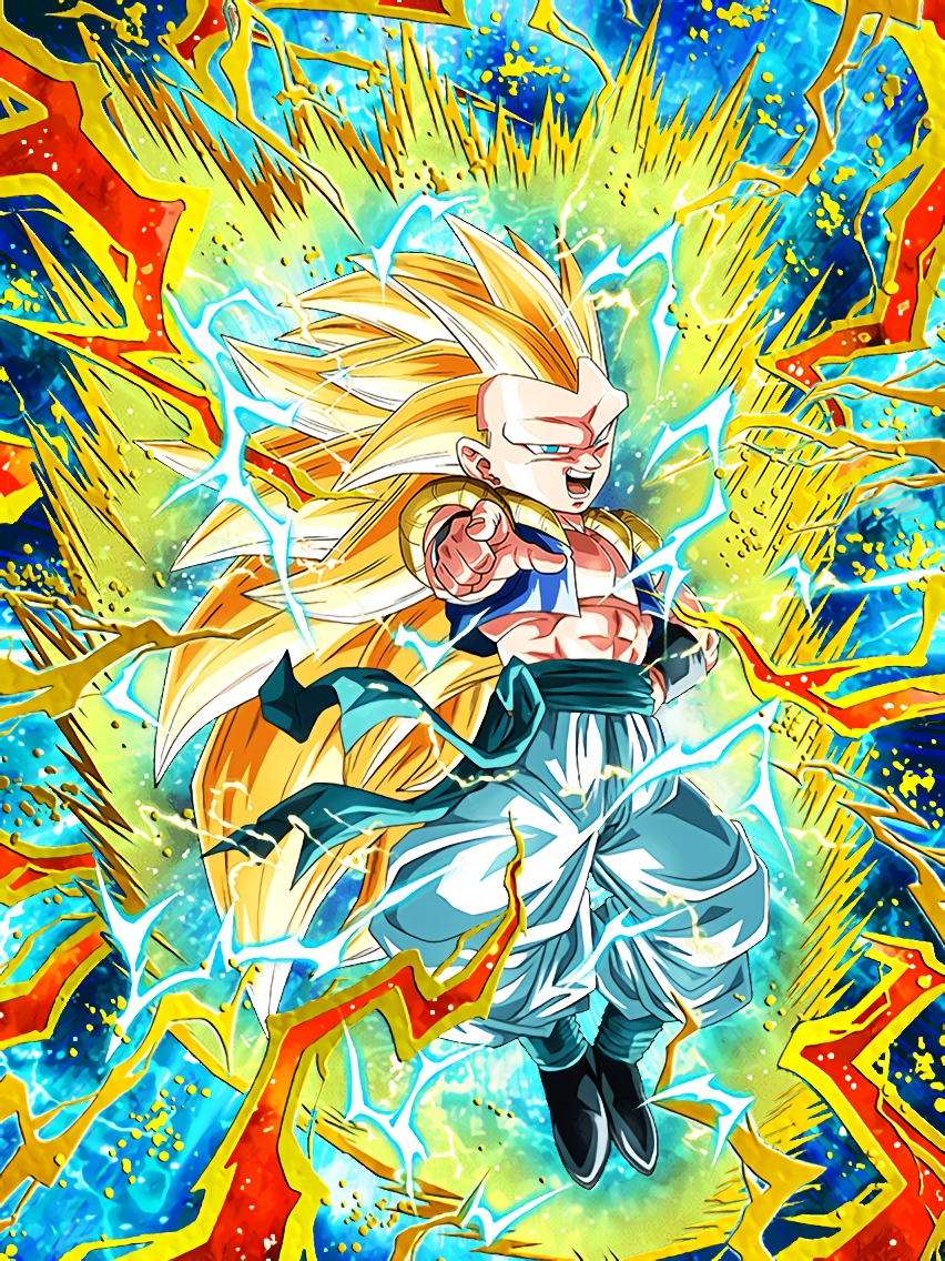 Naught but Rampage Super Saiyan 3 Gotenks Art (Dragon Ball Z Dokkan Battle).jpg