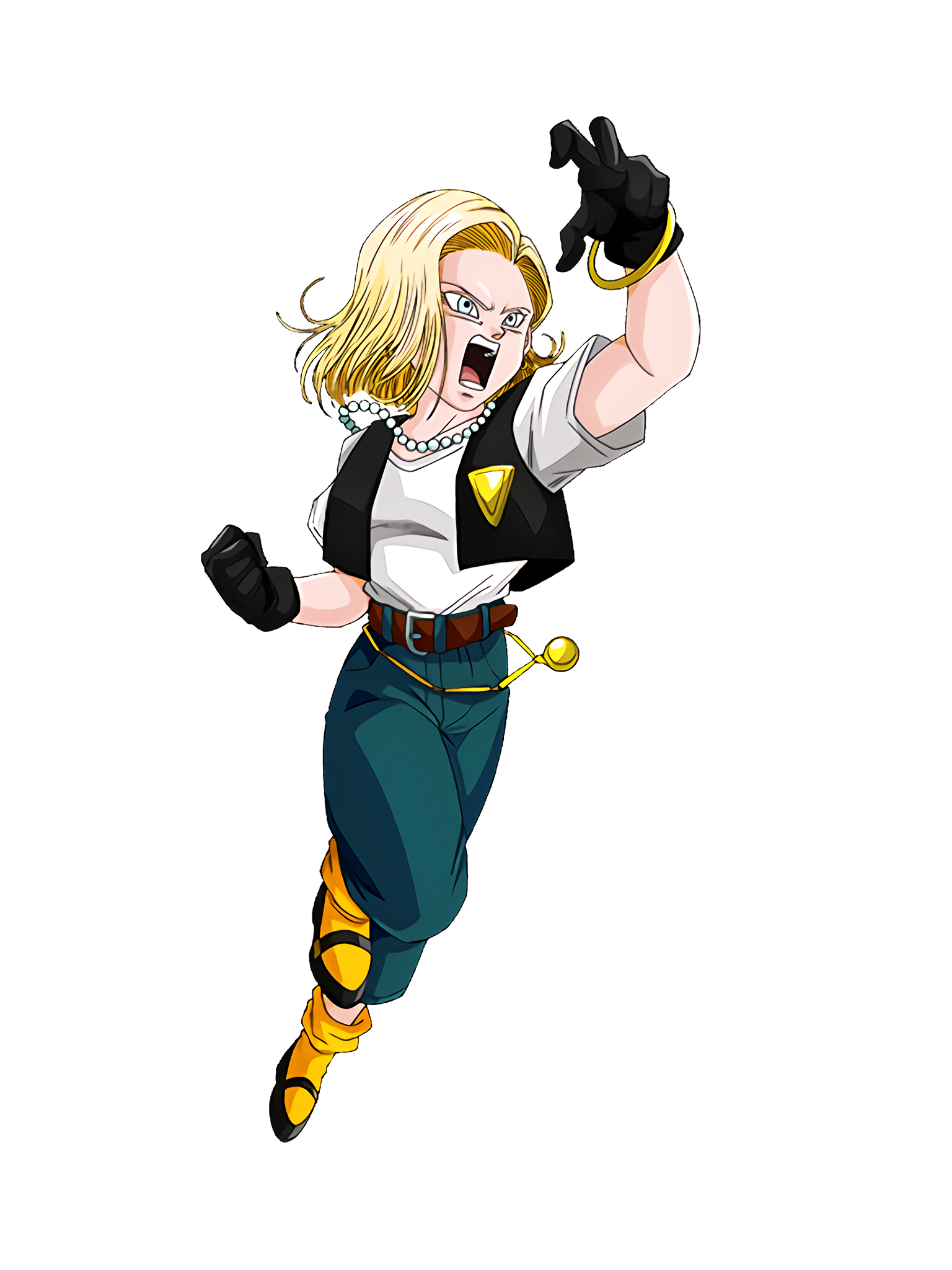 Mental Power that Continues to Resist Android 18 Render (Dragon Ball Z Dokkan Battle) .png