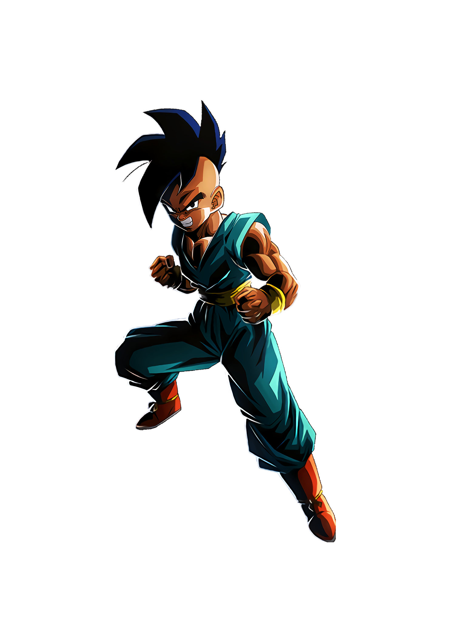 Hidden Majin Power Teen Uub GT Render (Dragon Ball Z Dokkan Battle).png