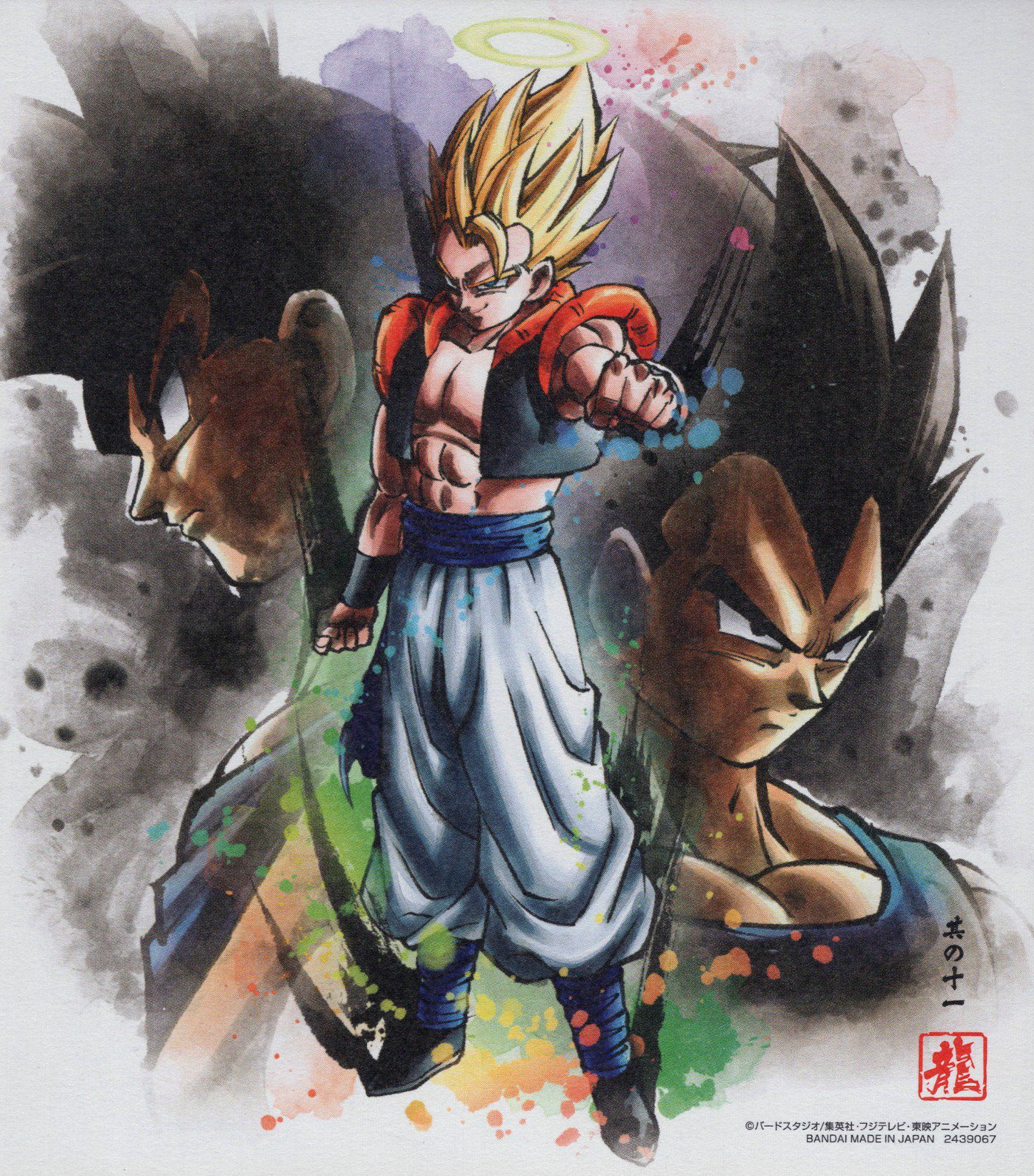 Gogeta SSJ (Dragon Ball Shikishi Art 6)