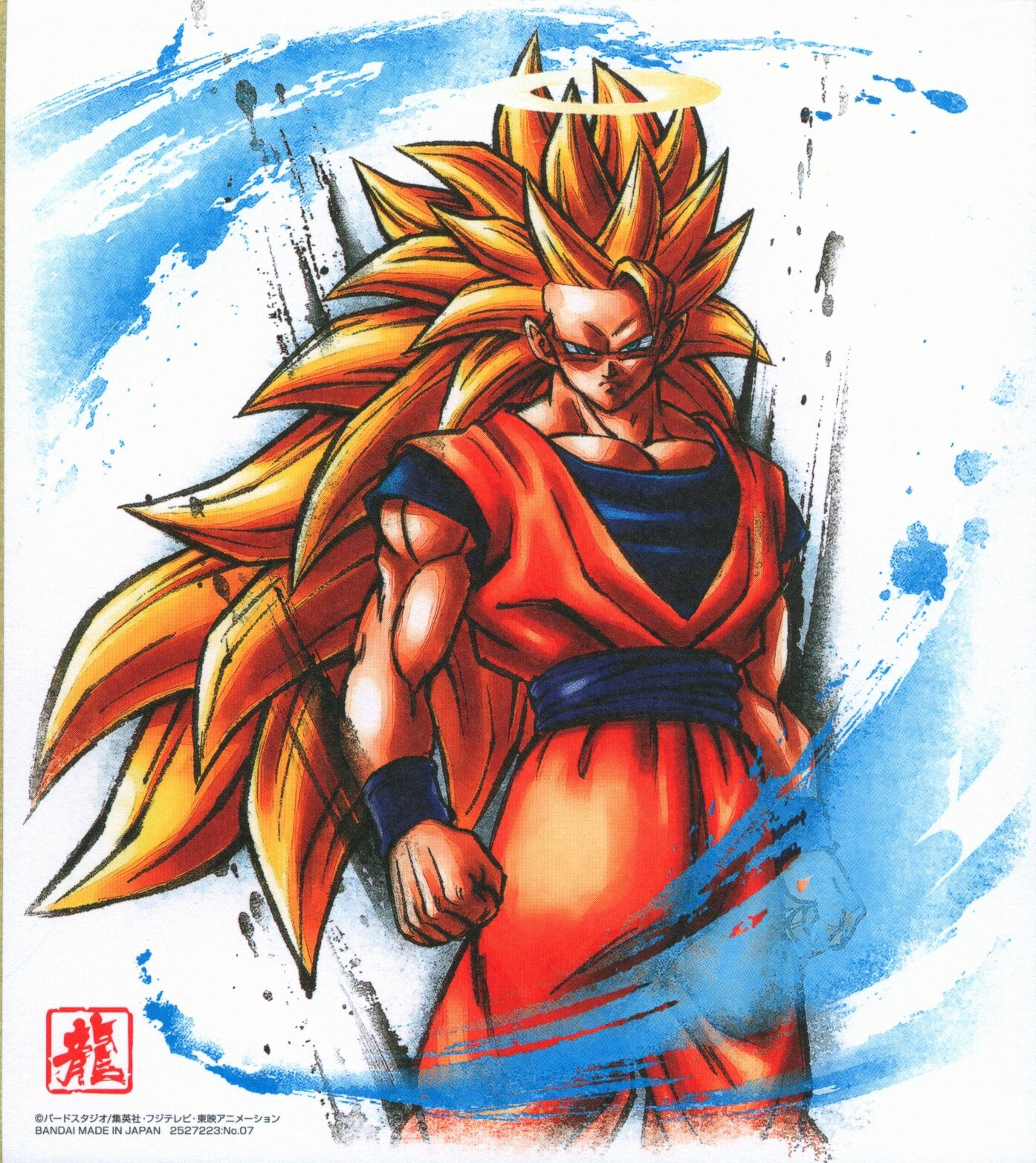 SSJ3 Goku (Dragon Ball Shikishi Art 11)
