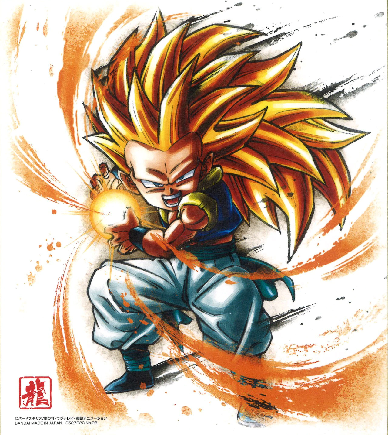 SSJ3 Gotenks (Dragon Ball Shikishi Art 11)